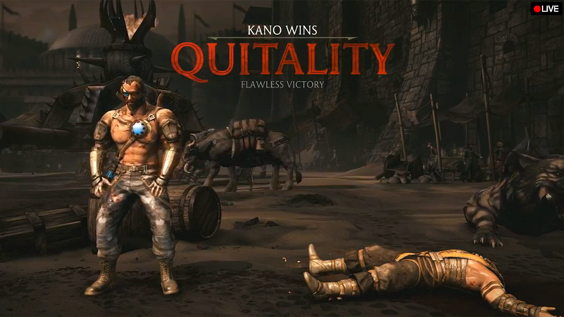 Mortal Kombat X will punish online quitters by making their heads explode