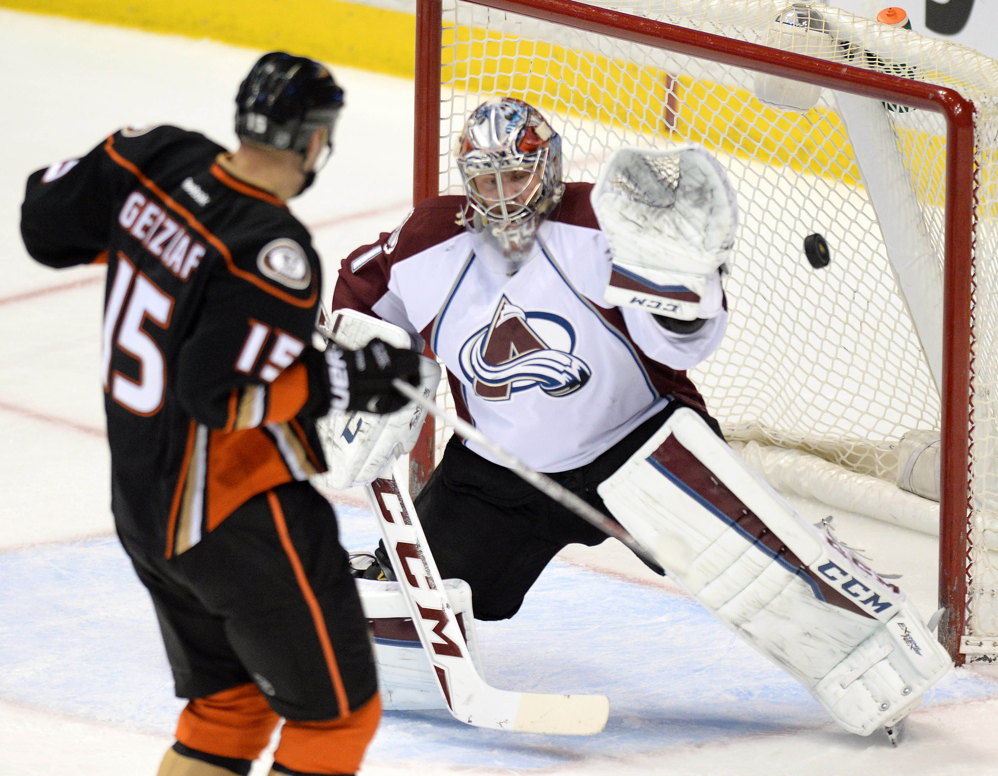 Avalanche drop one in overtime to Ducks ""