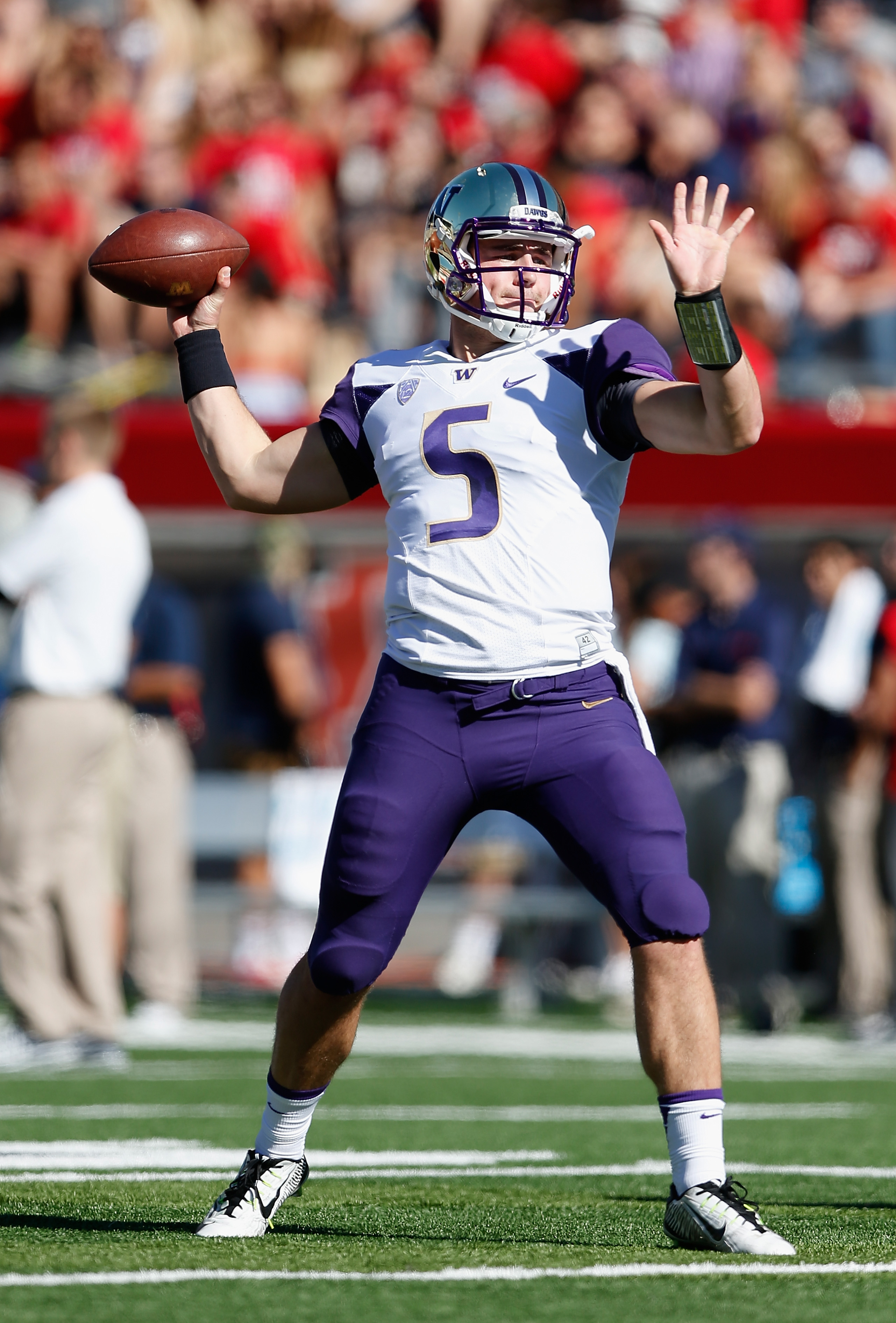 The UW QB Debate is full on as we head into spring camp.