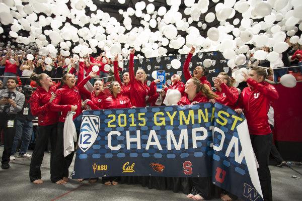 2015 Pac-12 Gymnastics Championships (Photos By Russ Isabella And Nathan Sweet)