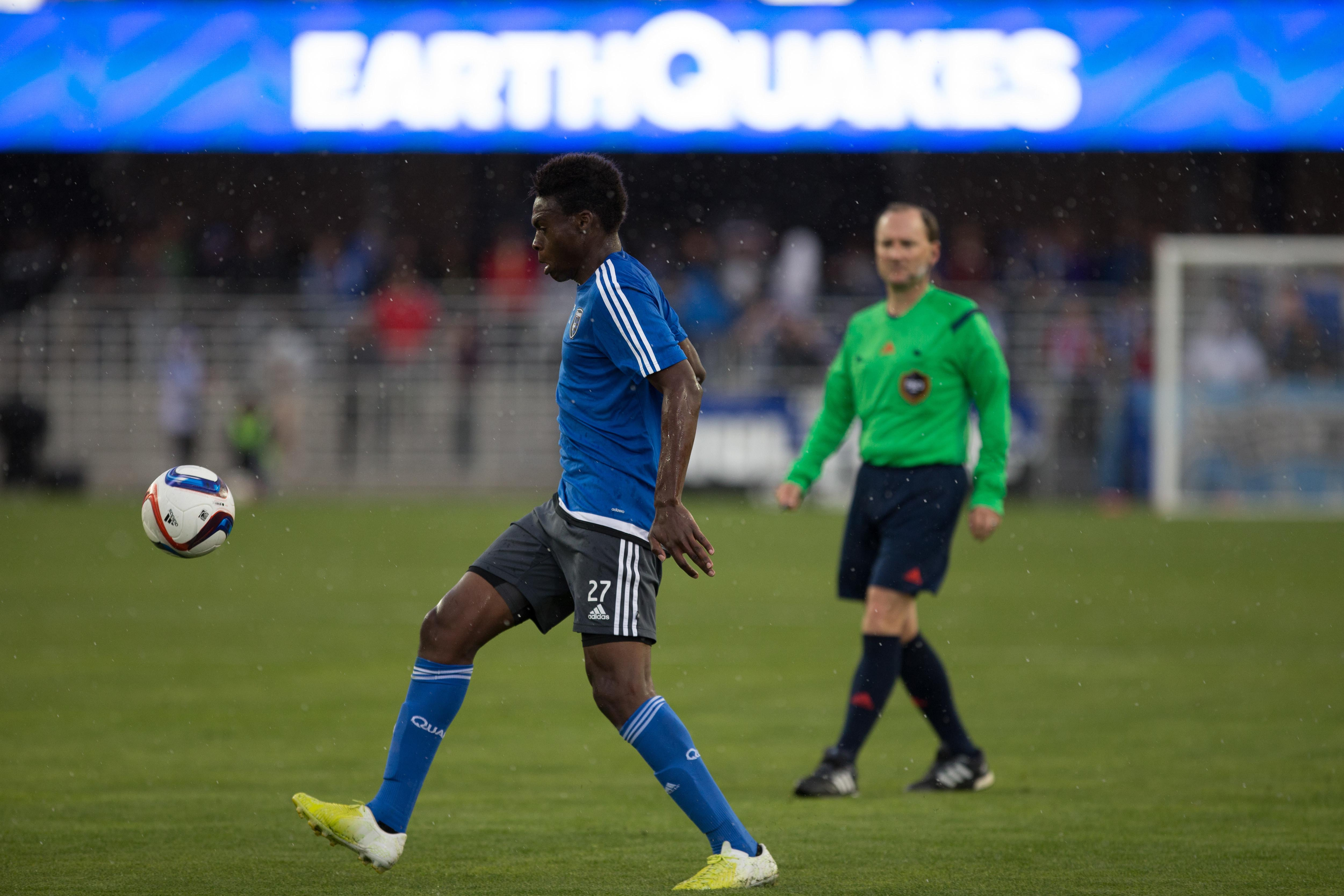 Alashe makes history for the Quakes