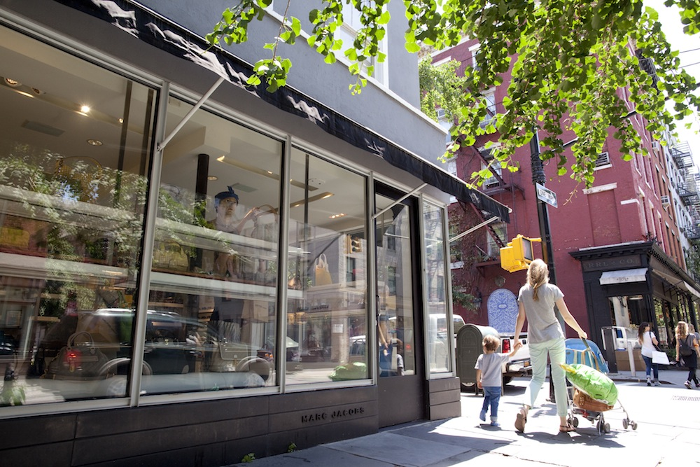 385 Bleecker Street, now the home of Marc Jacobs Beauty. Photo: Brian Harkin