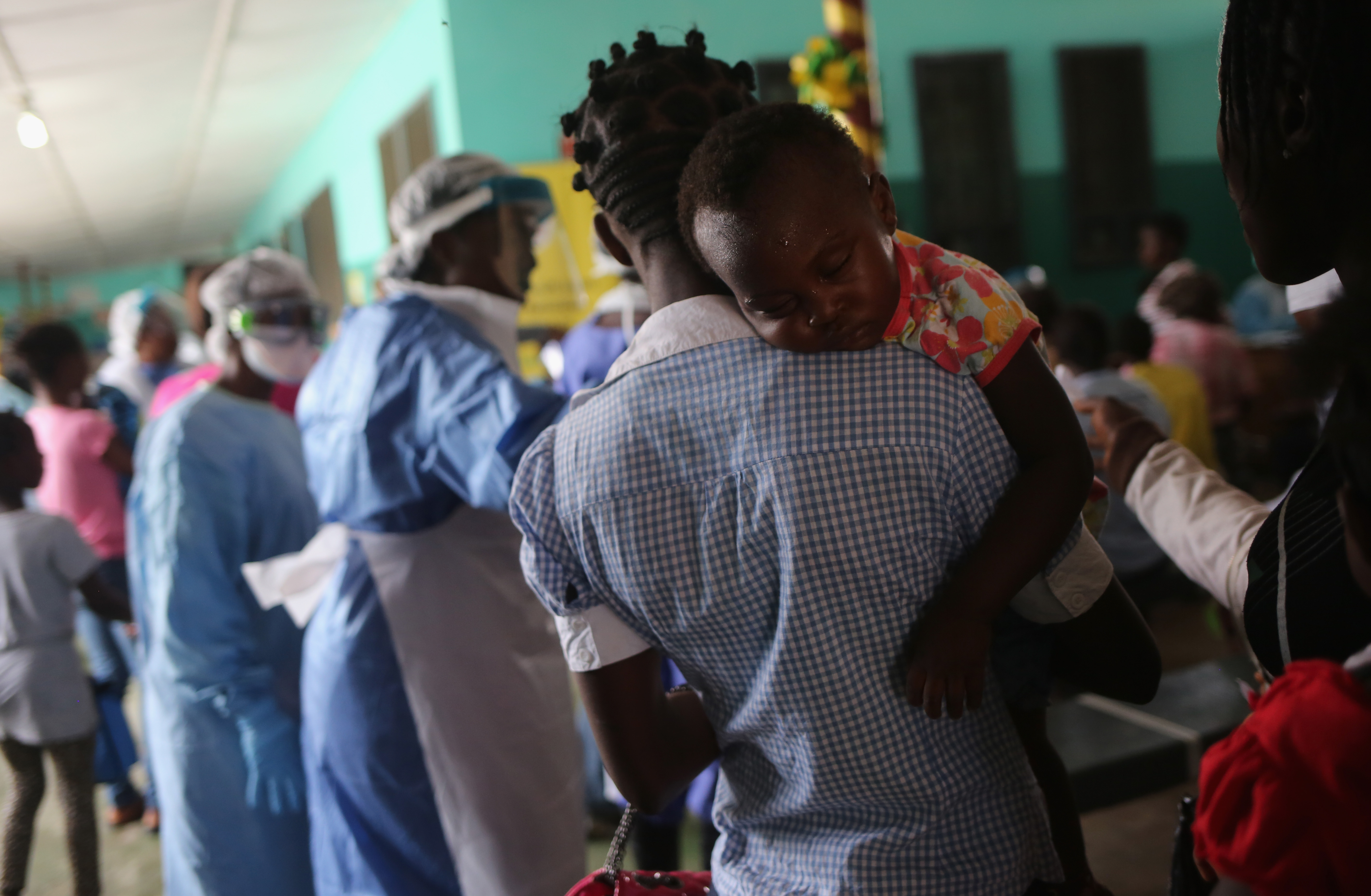 Remember the Ebola epidemic? It's still not over.