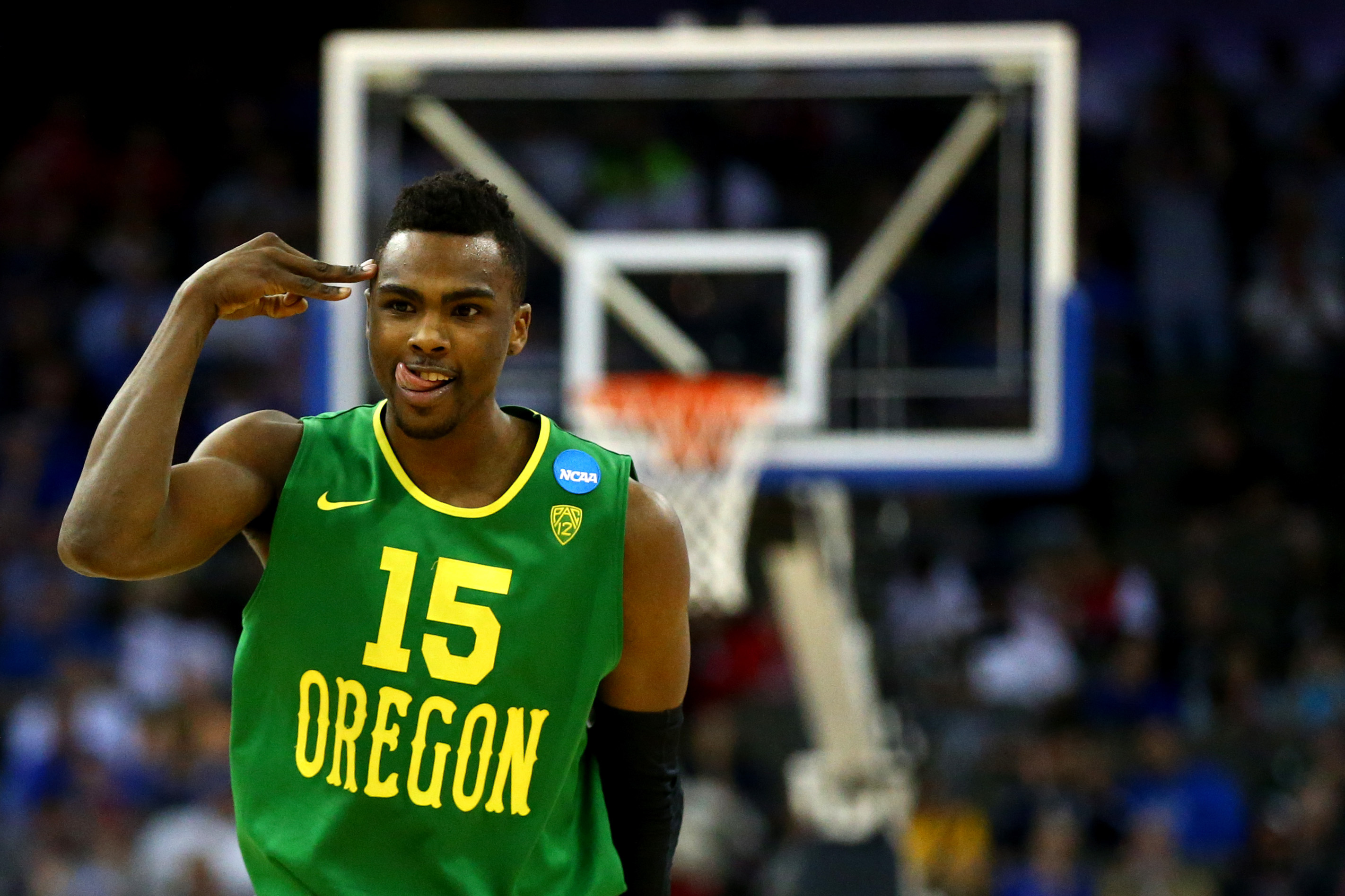 Jalil Abdul-Bassit and the Oregon Ducks fell in the second round of the NCAA tournament, but you can make him a champion here!