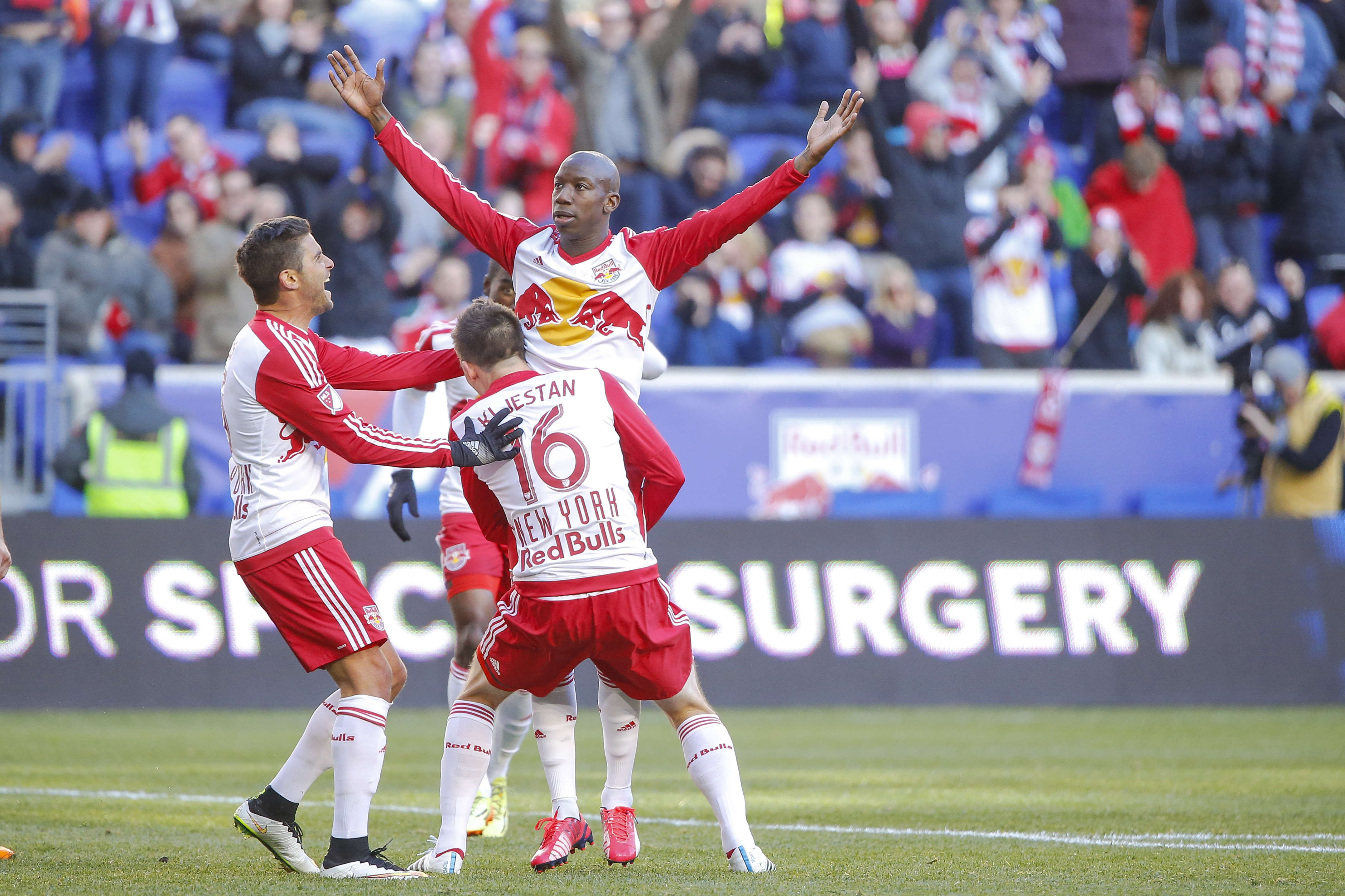 New York red Bulls striker Bradley Wright-Phillips will hopefully find his form after topping the FMLS points category in week three.