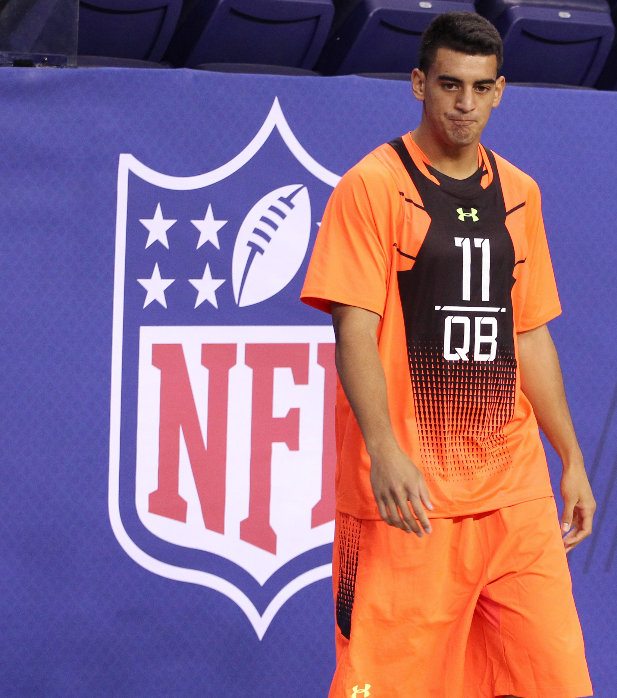 Rise 'n Grind: Marcus Mariota will be the 2nd pick in the 2015 NFL Draft