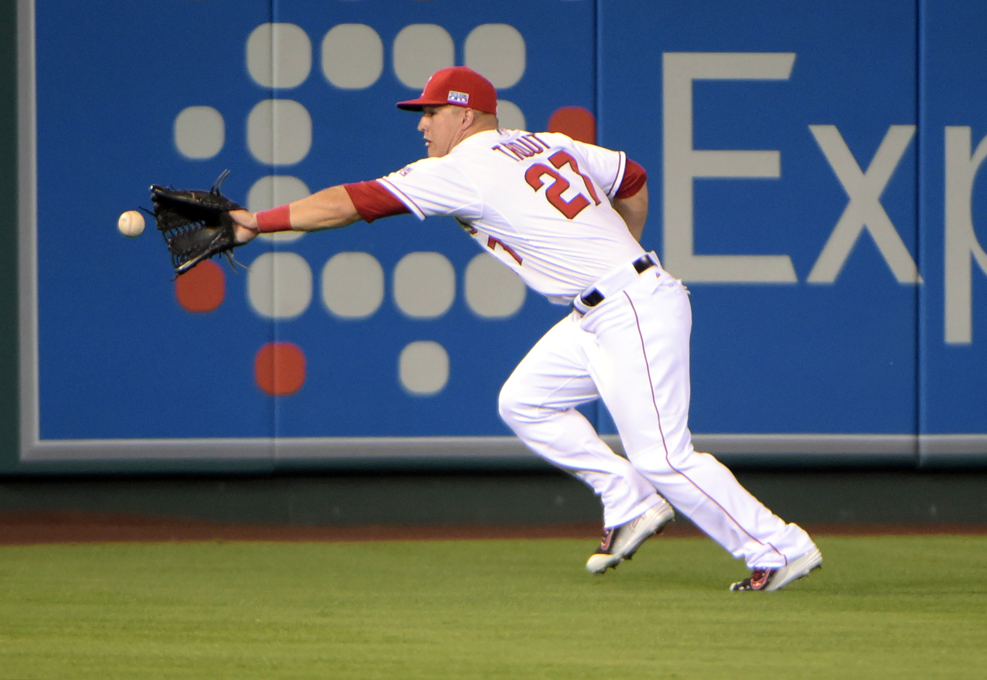 A true five tool player, Mike Trout