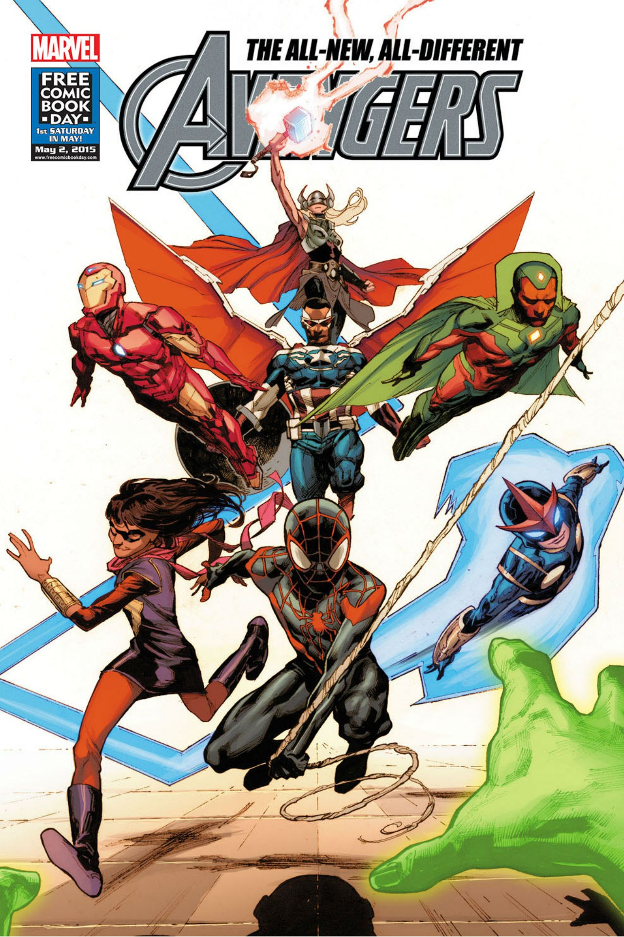 Miles Morales, Ms. Marvel and Thor join Marvel's All-New Avengers team