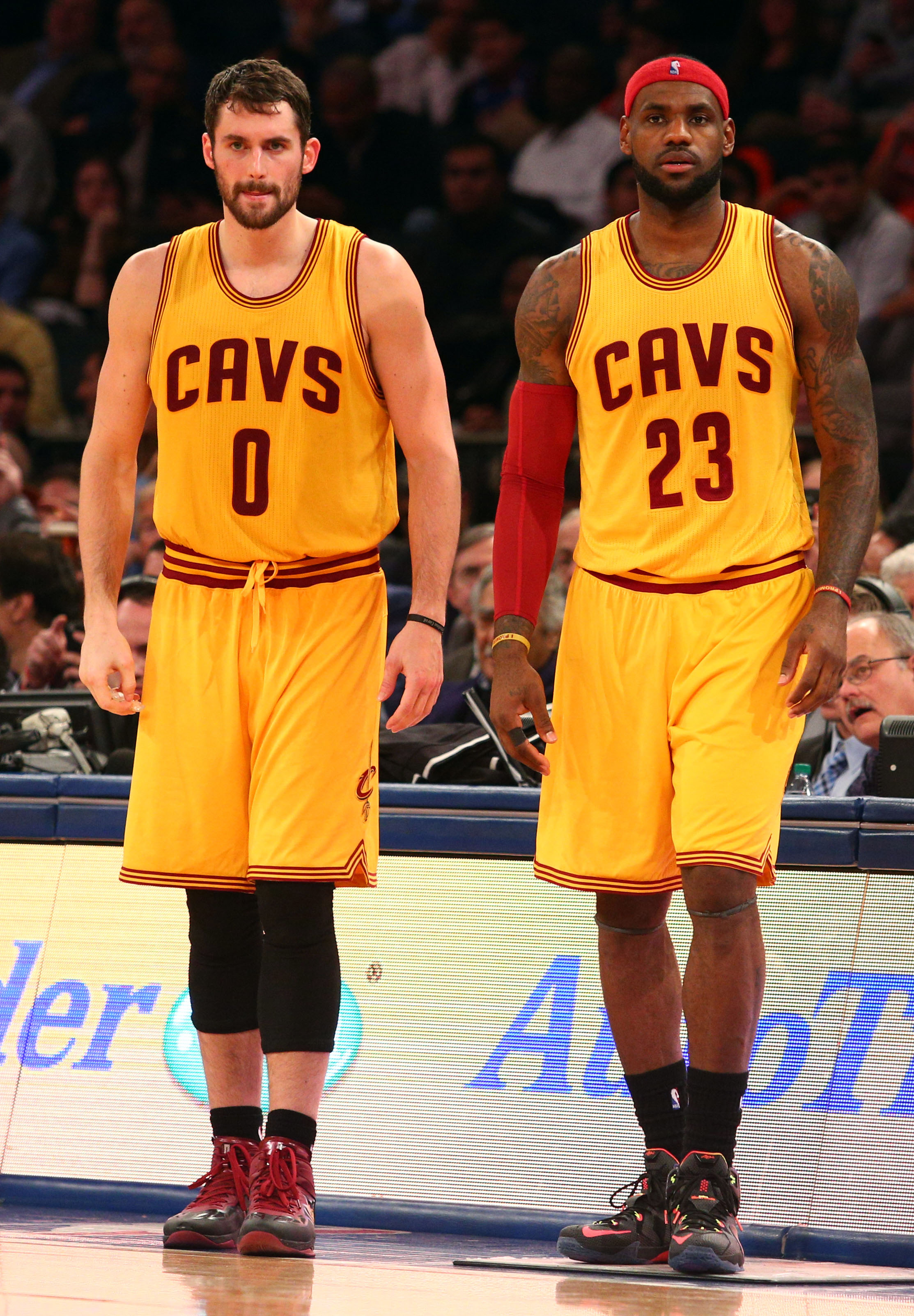 LeBron James 'frustrated' by his relationship with Kevin Love, according to report