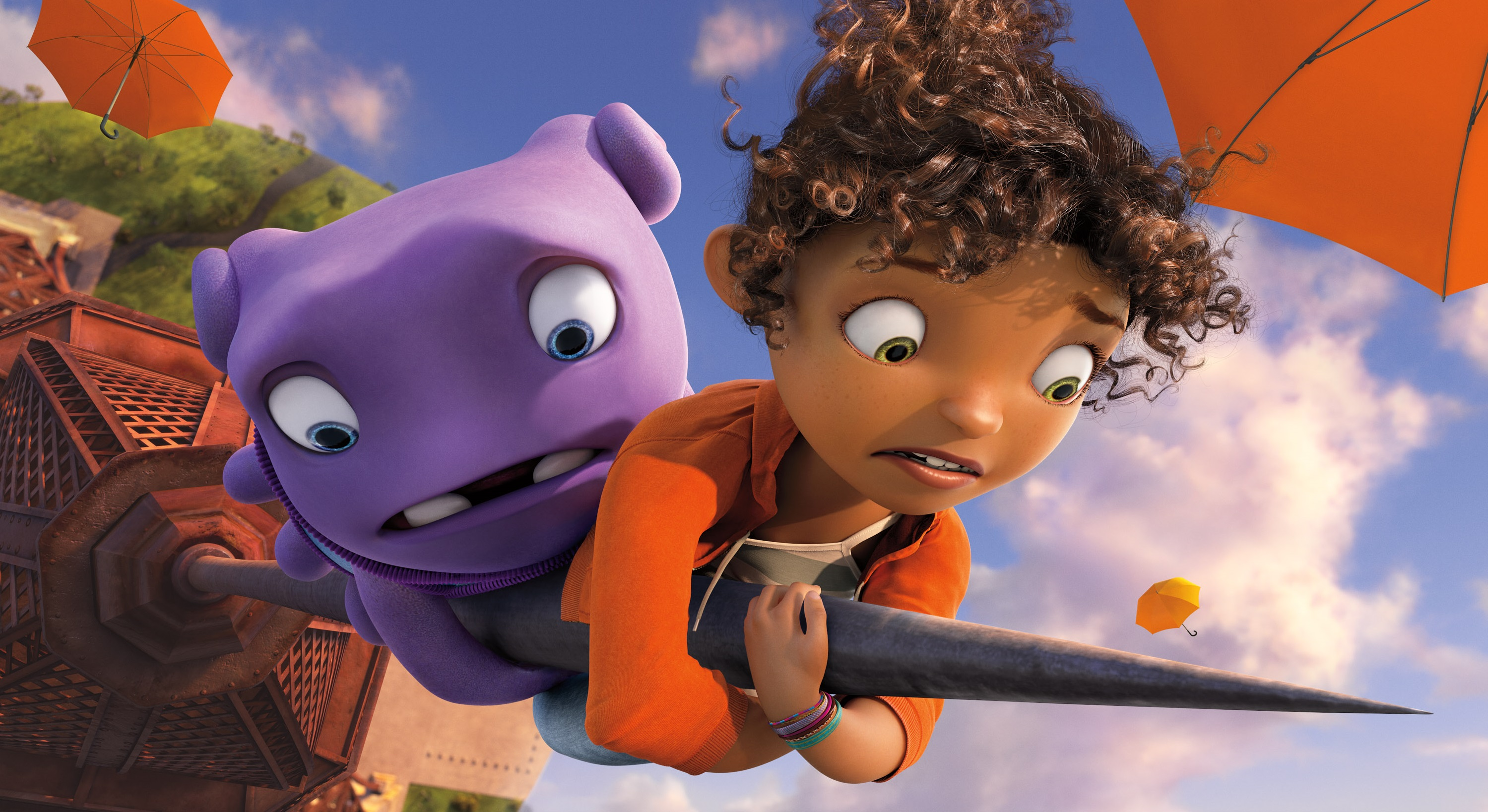 Home, the latest animated kid flick, is actually about colonialism. No, really.