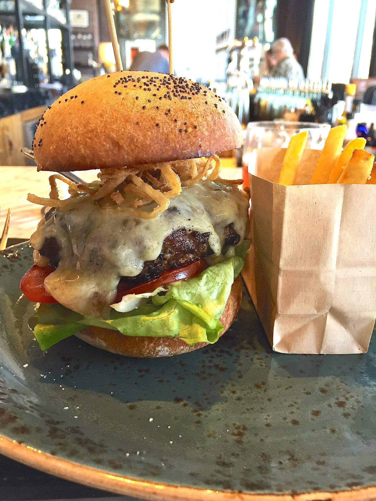 The Bancroft Burger