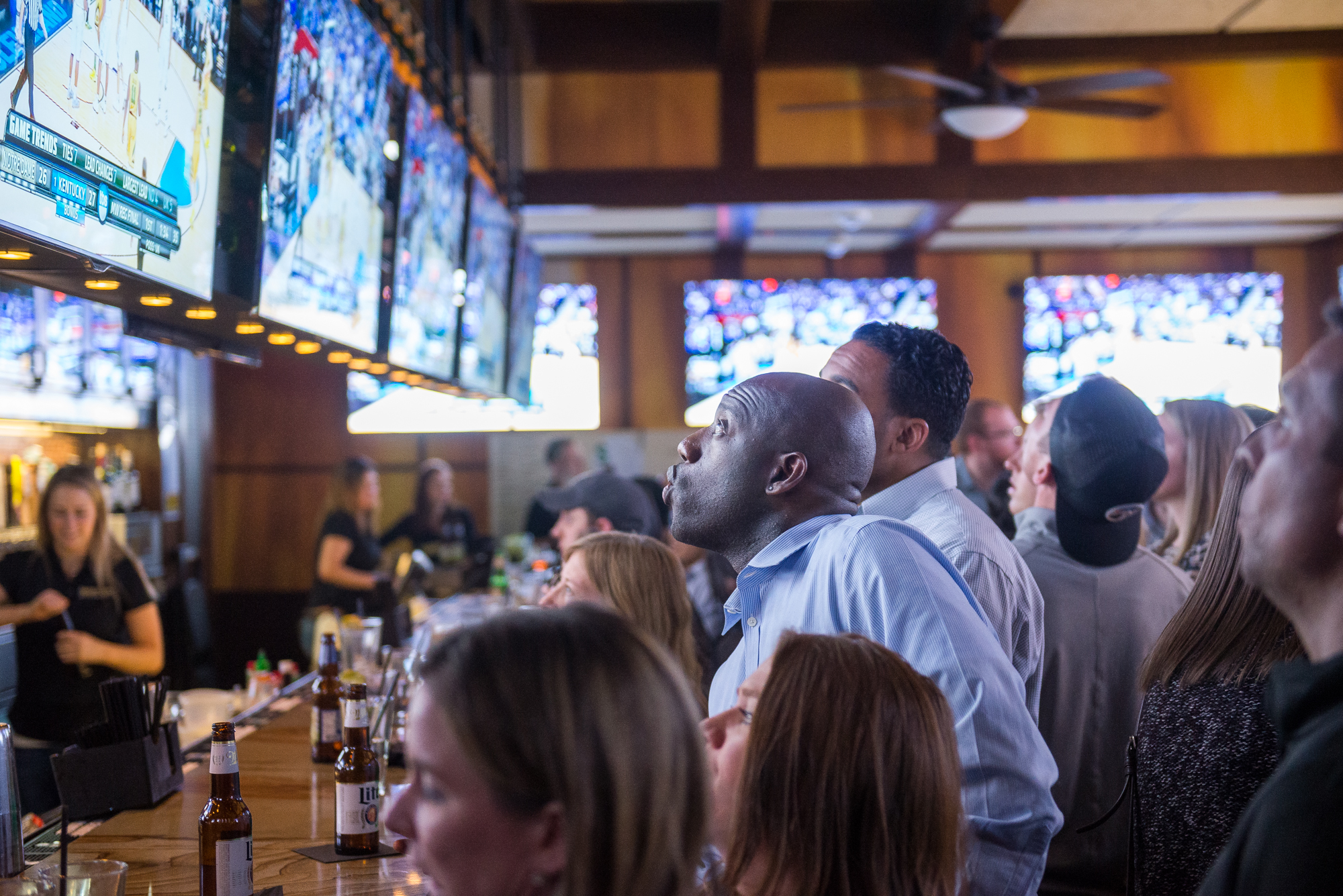 Bracket Room during March Madness