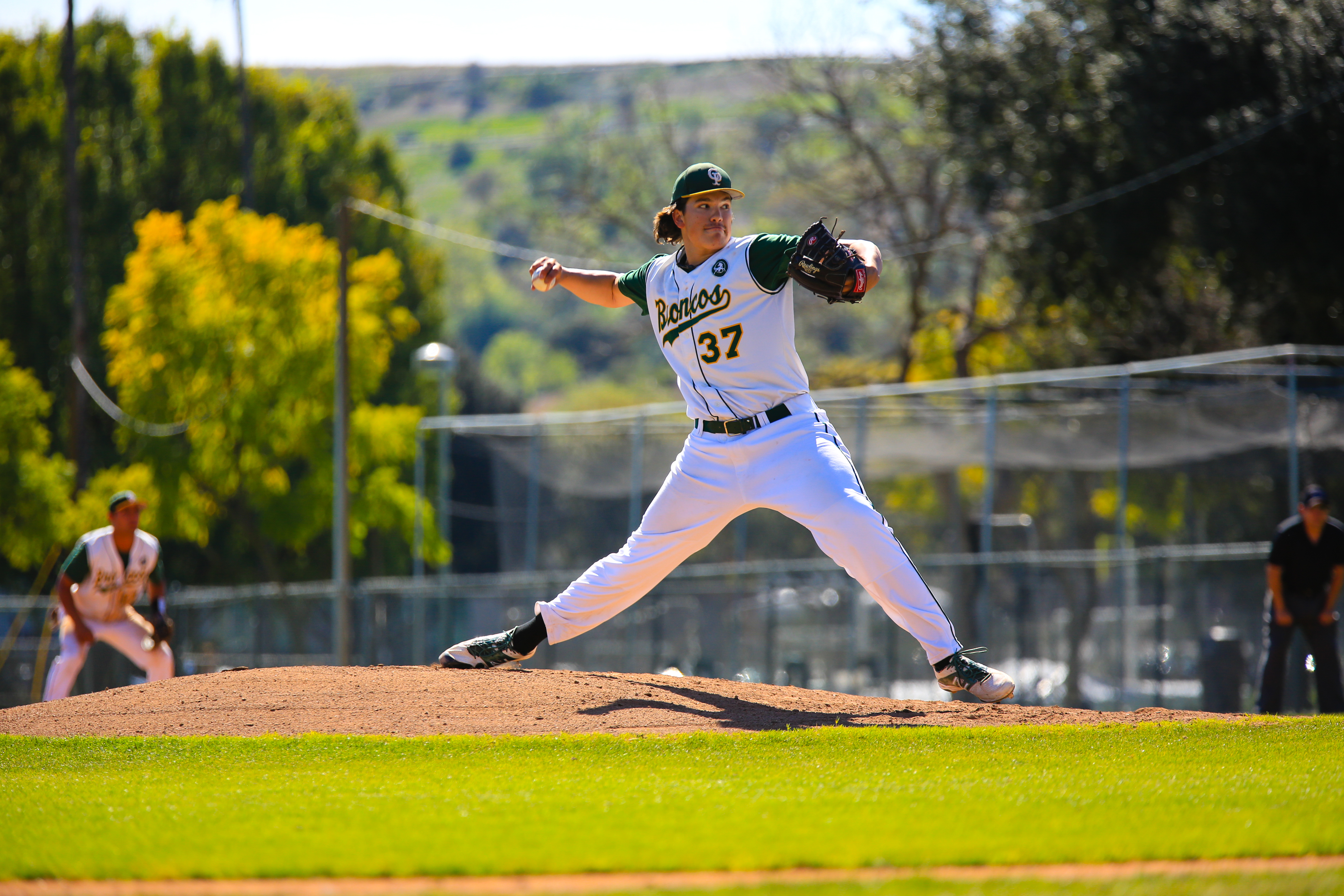 Cal Poly Pomona right-hander Cody Ponce delivers a pitch