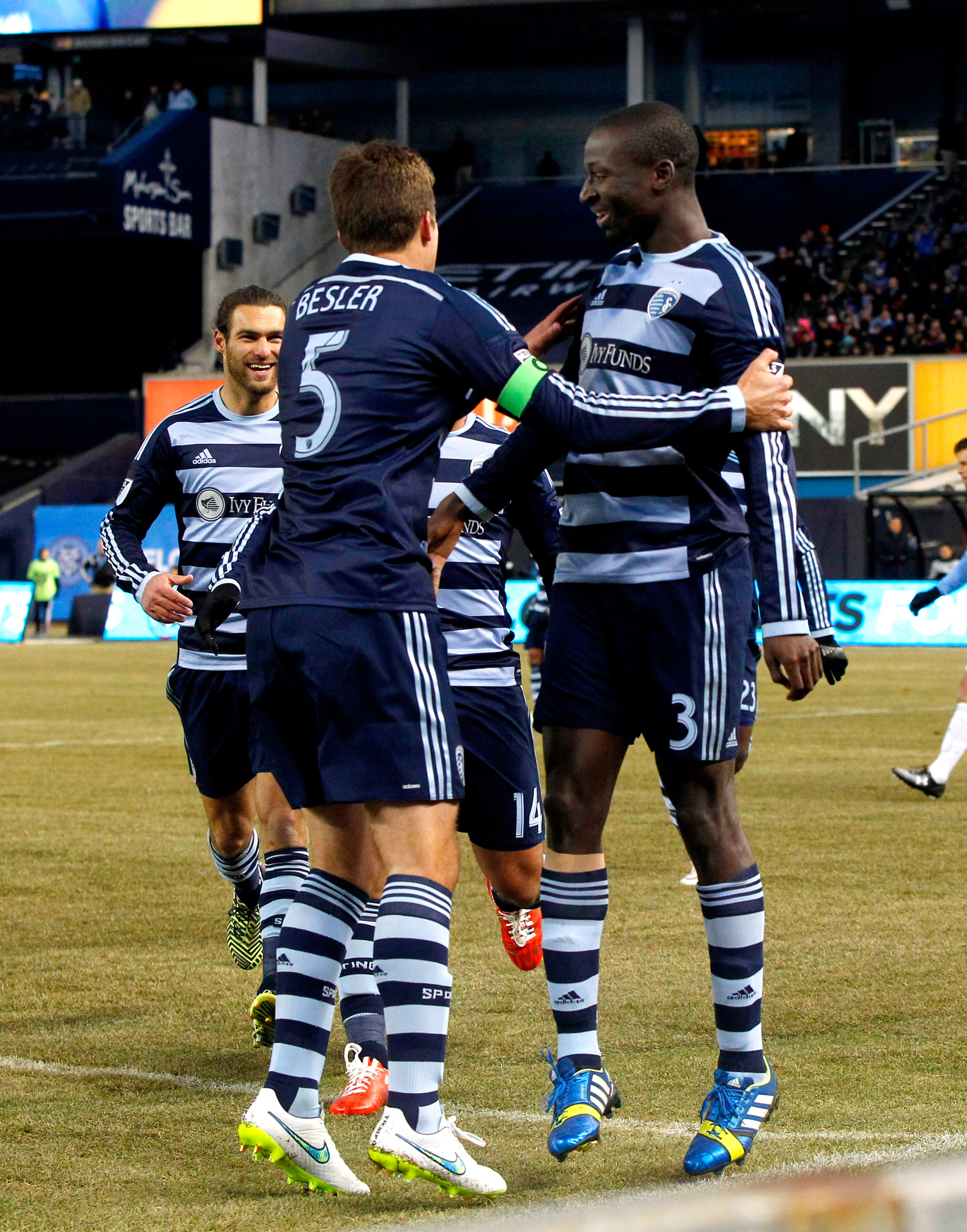 Sporting Kansas City's Ike Opara was this week's top Fantasy MLS scorer with 17 points with a goal and strong defensive showing against New York City FC.