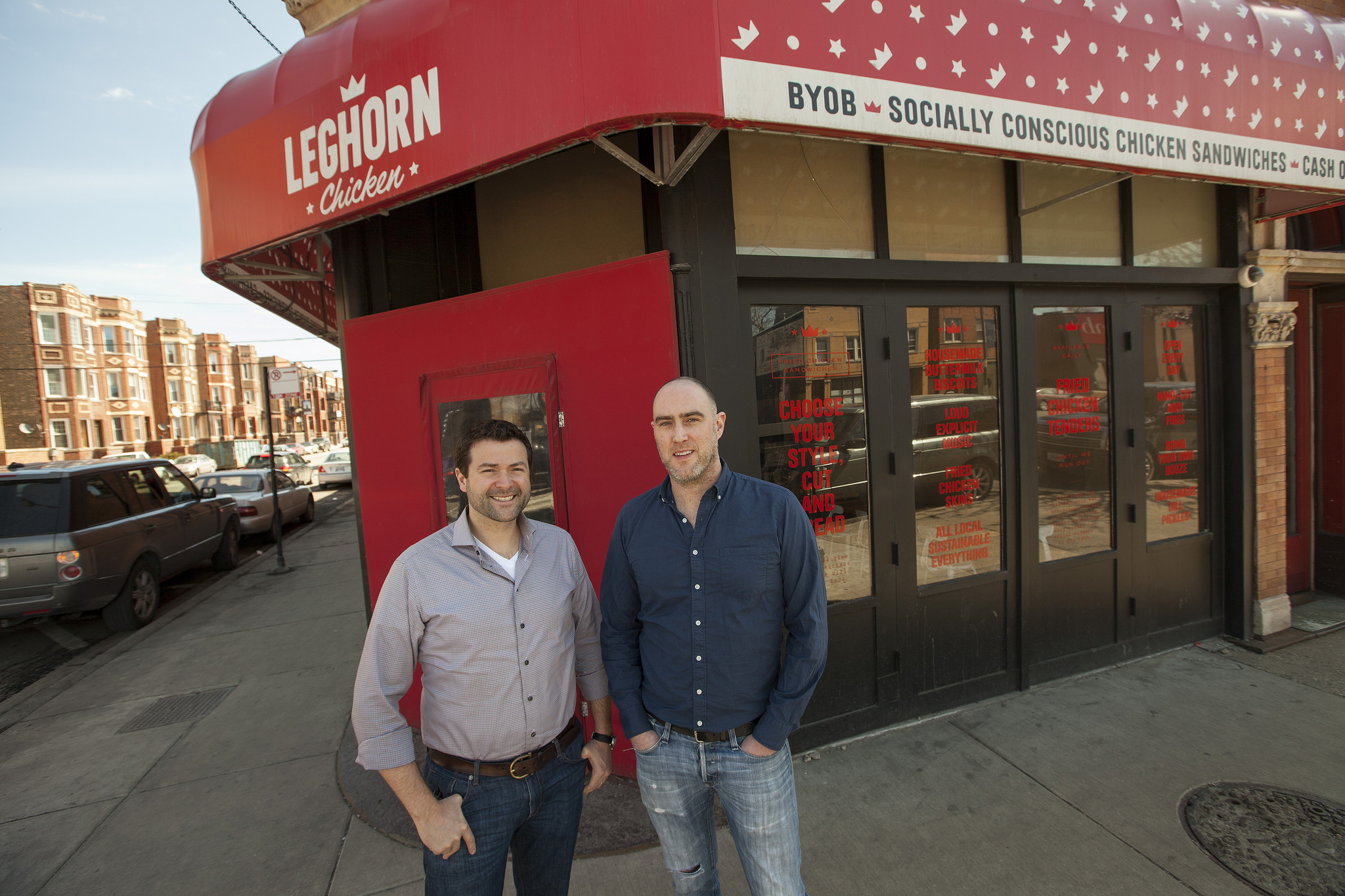 How Leghorn Chicken Got Fast Food Cred After One Year and 20,000 Condoms
