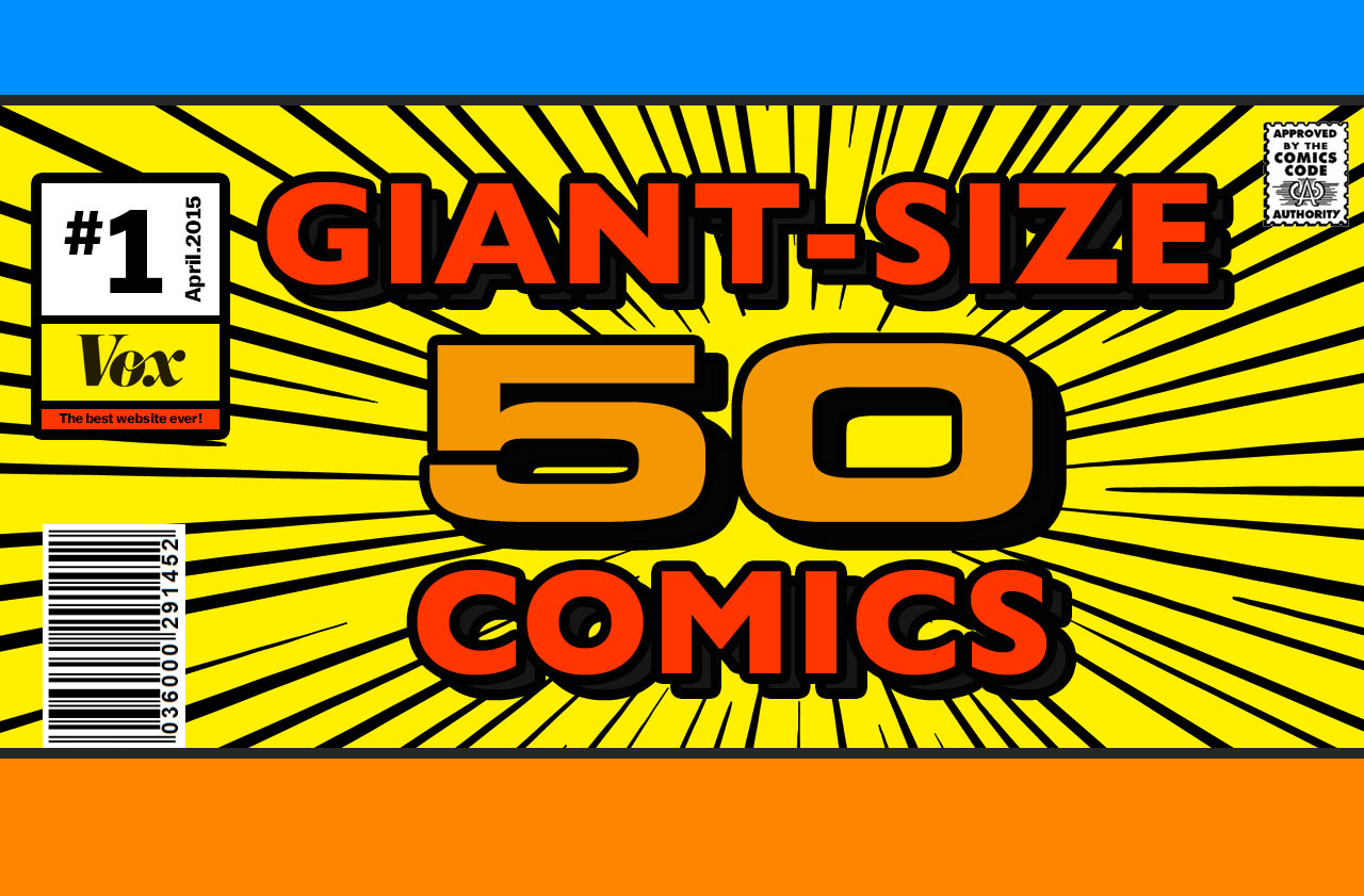 50 comic books that explain the comics industry today - Vox