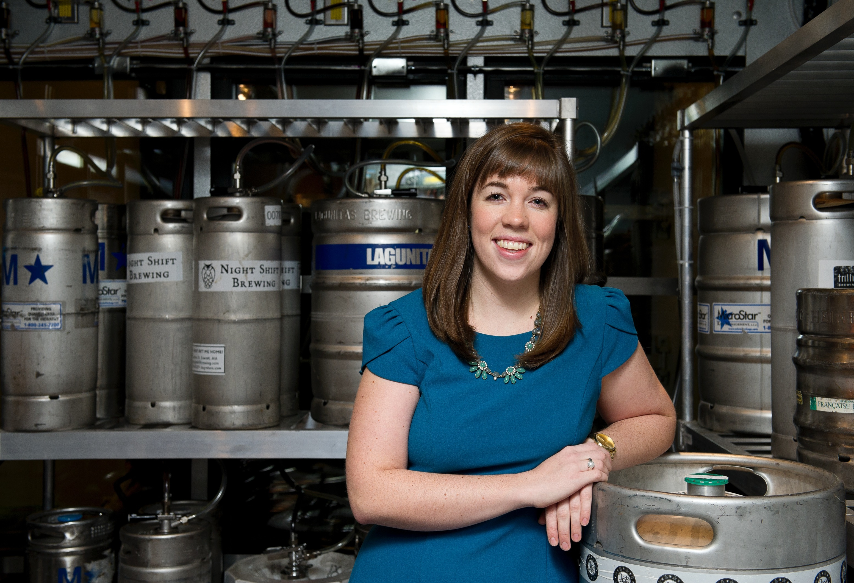 Row 34 beer director Megan Parker-Gray