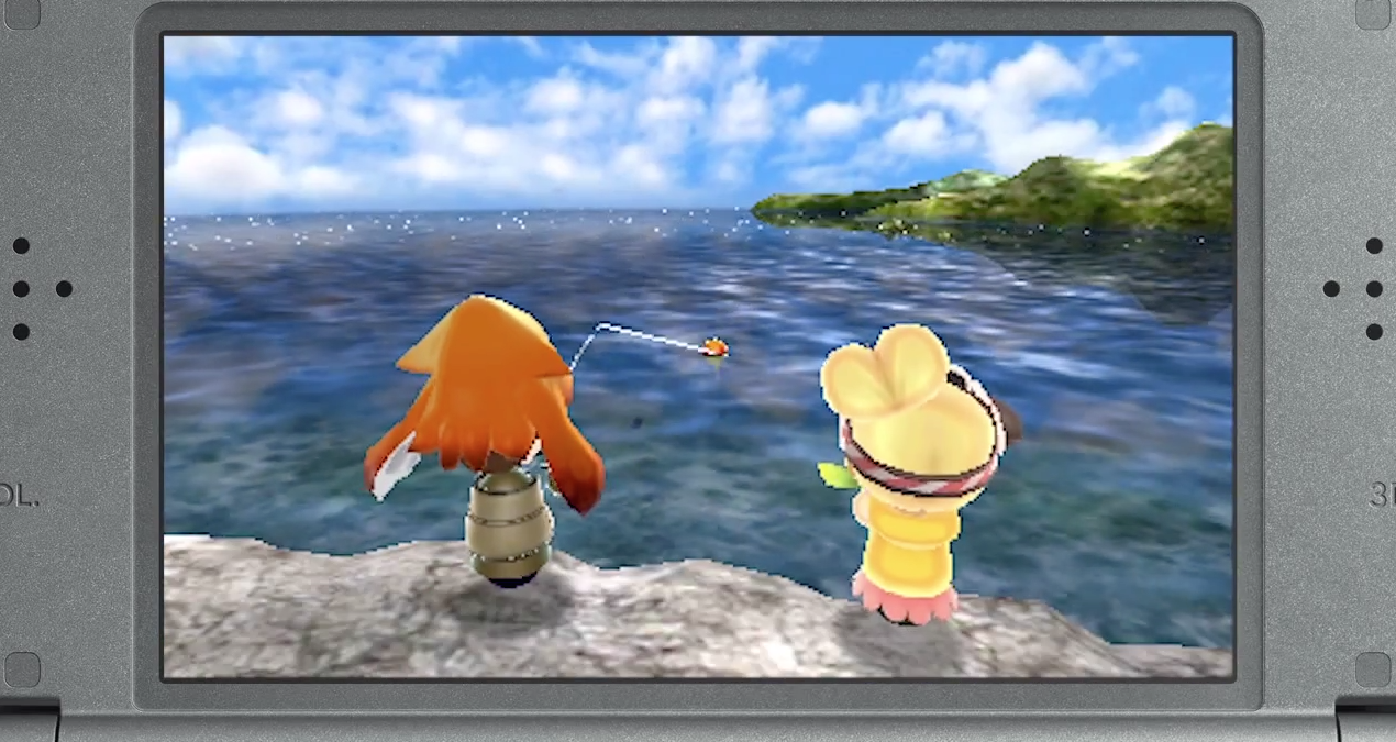 Fishing, zombies and a premium area are heading to the 3DS Mii Plaza