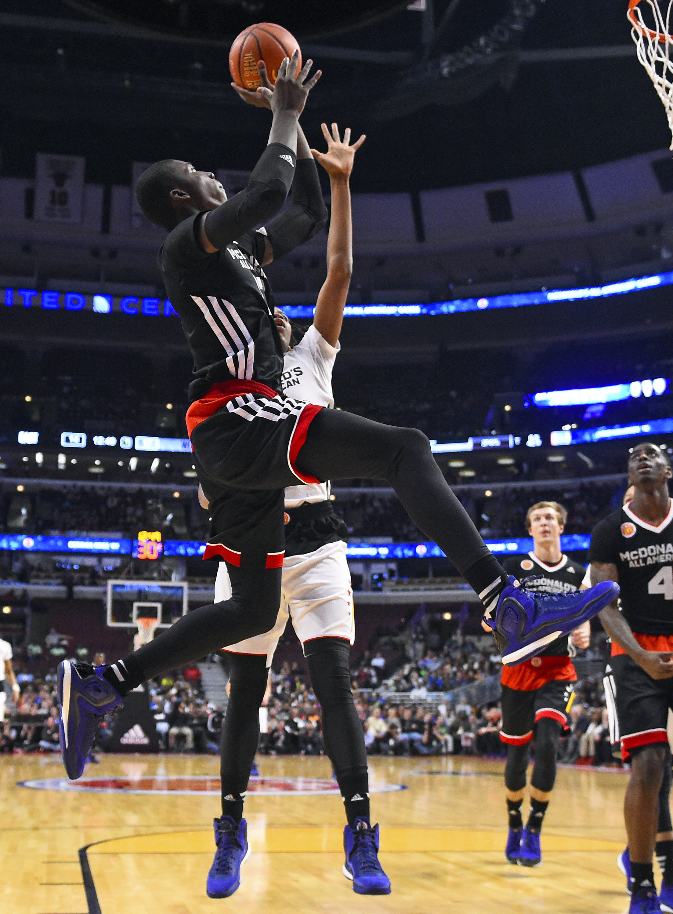 Kansas target Cheick Diallo was named MVP of the 2015 McDonald's All-American game.