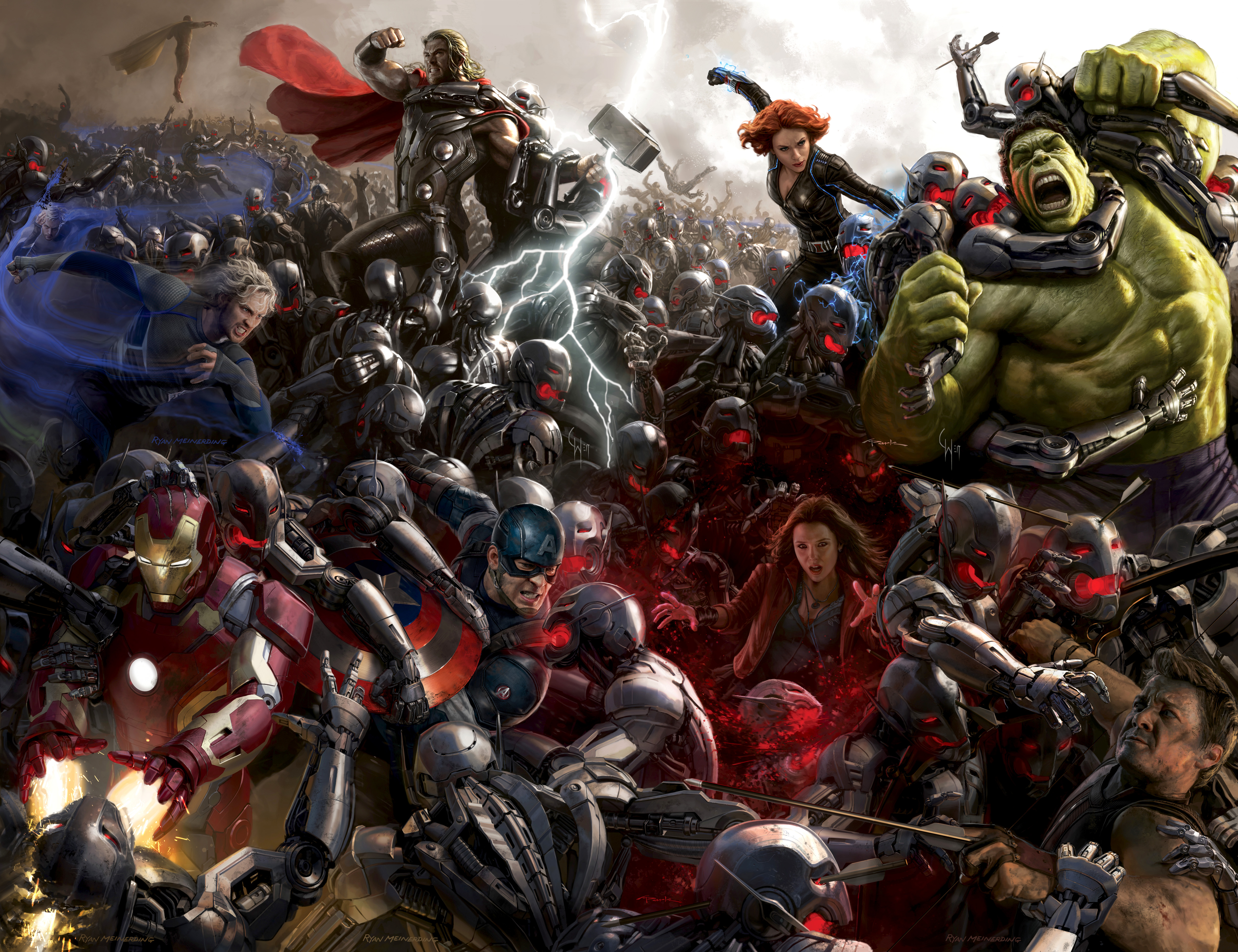 Ten actors you already forgot are going to be in Avengers: Age of Ultron