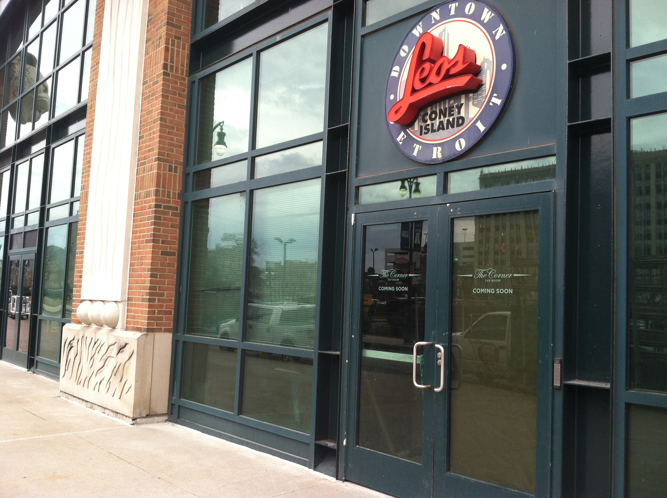 Leo's Coney Island is being replaced by The Corner Tap Room.