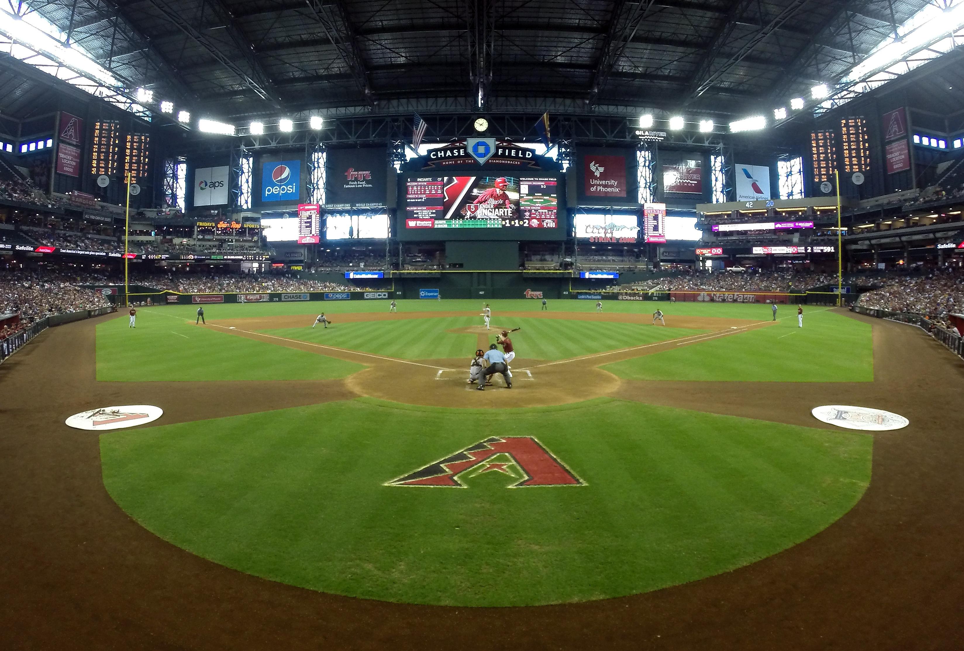 Chase Field, Phoenix.