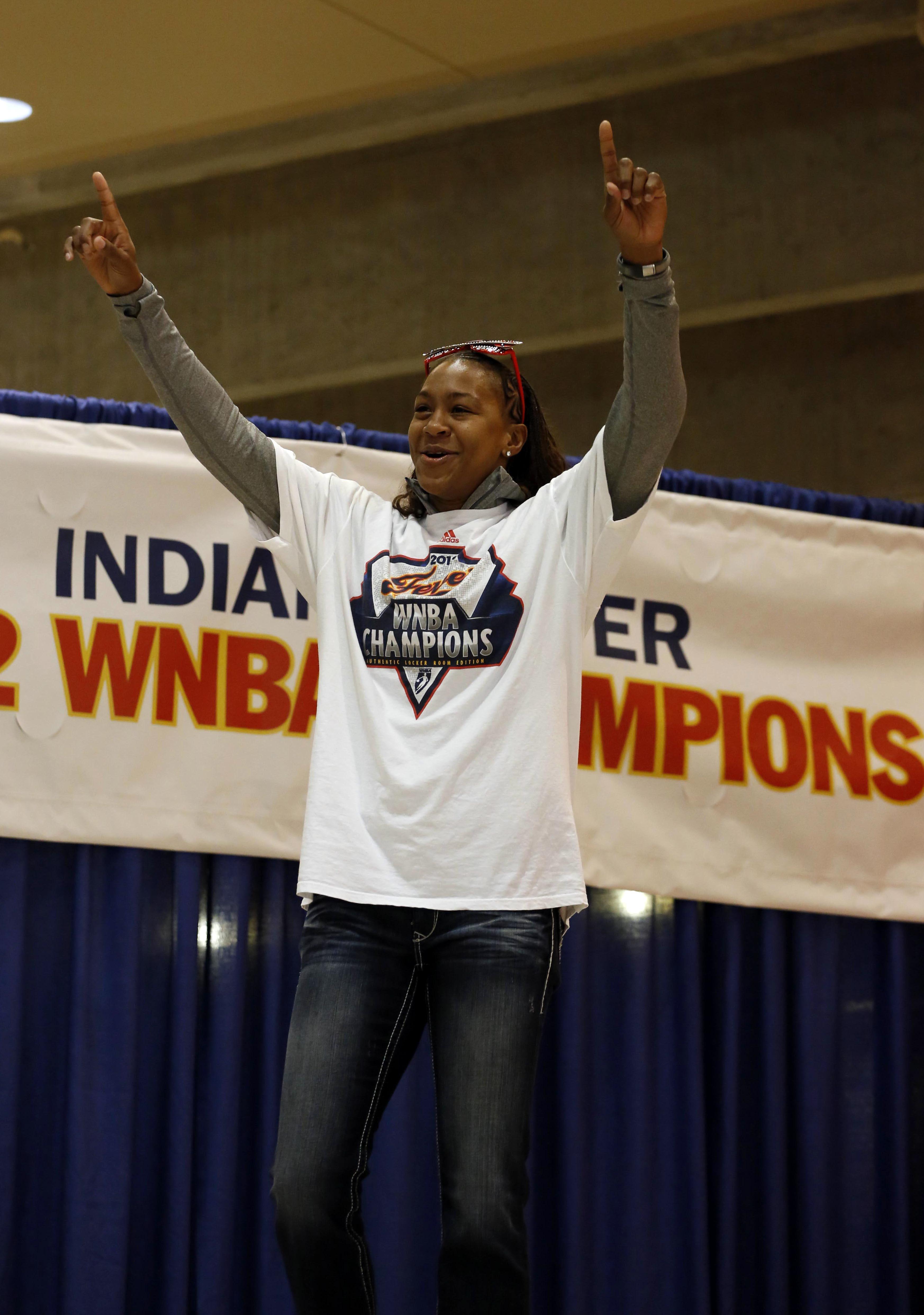 Catchings finally achieved a lifelong dream: winning a WNBA Championship in 2012.