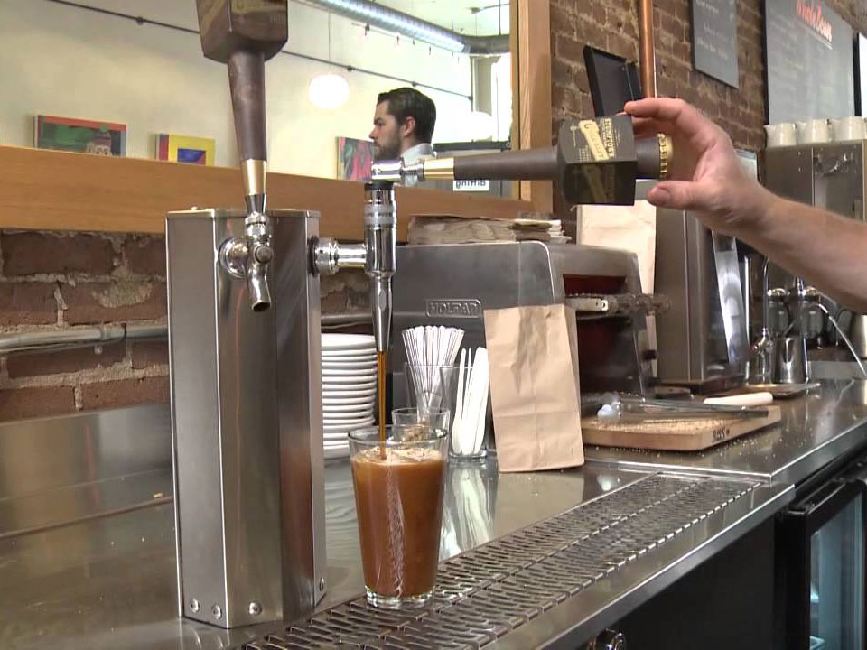 Nitro Tap Uses Science to Infuse Cold Brew Coffee With the Flavors of Cream and Sugar