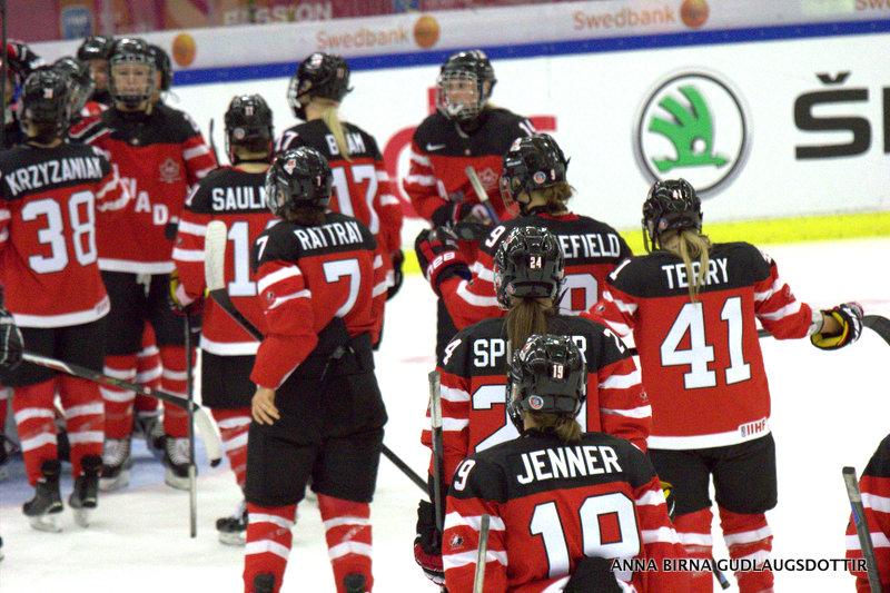 After dispatching Finland in the semis, Canada heads to the gold medal game against the United States Saturday in Malmo.