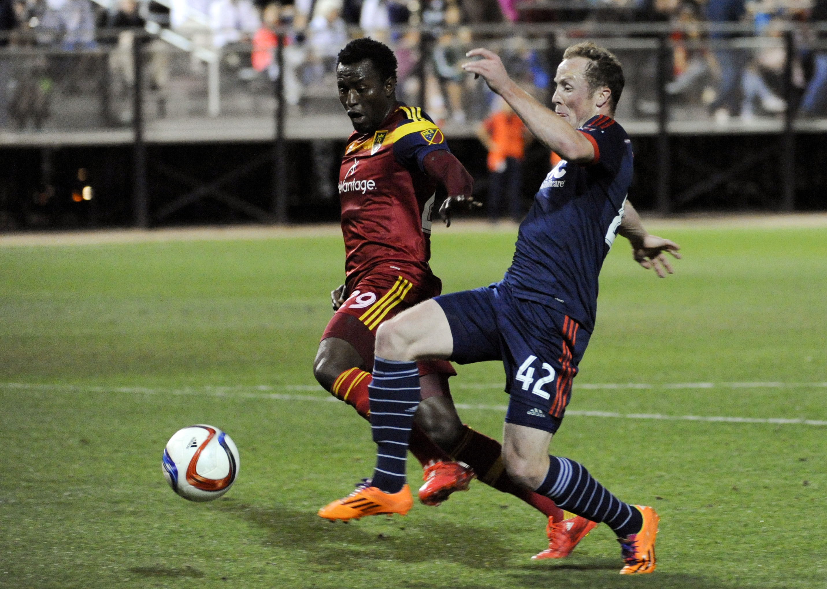 Timi Mulgrew, loaned to Rochester from New England this week, will look to make an immediate impact.