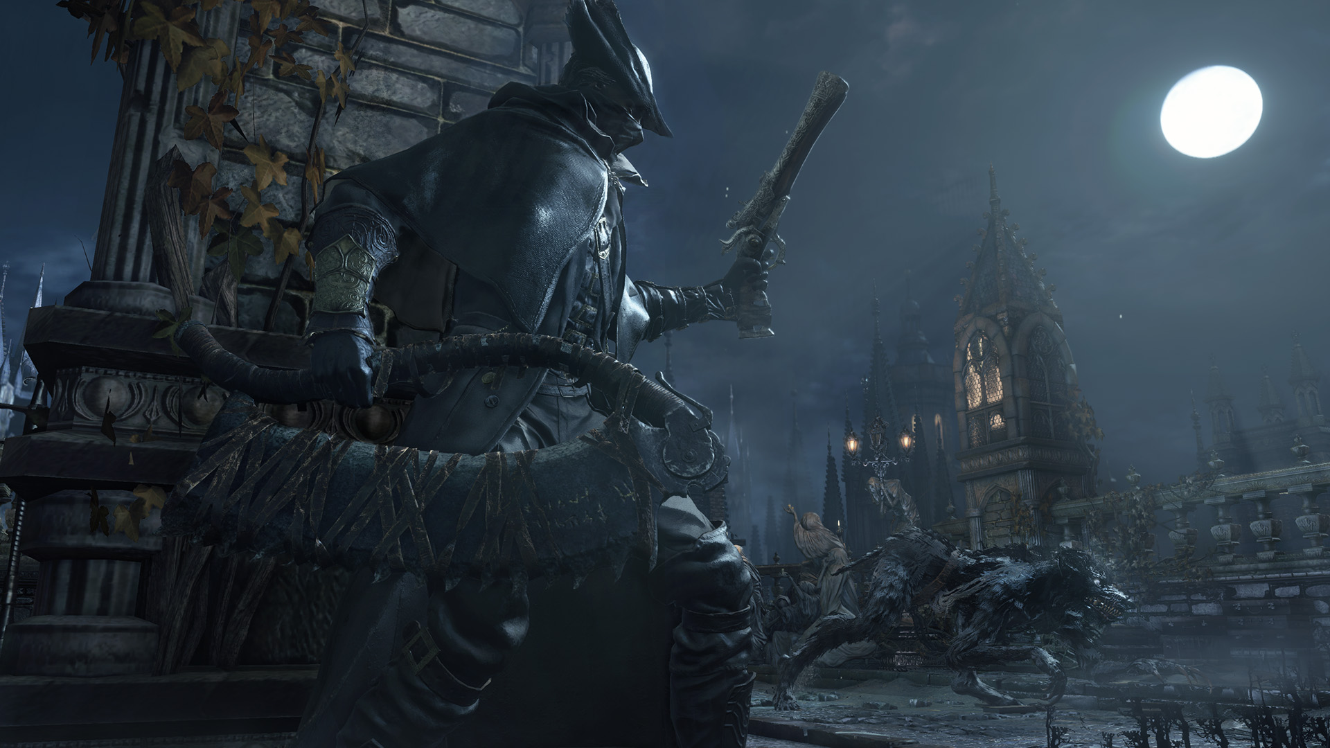 How to soften up Bloodborne's hard-as-hell bosses: Leave the game running for 12 hours