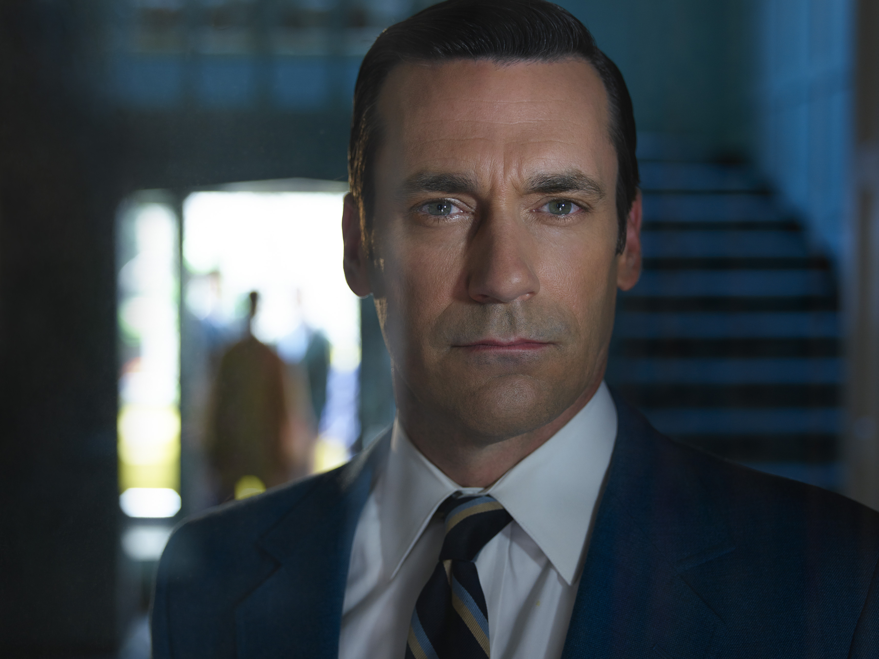 Don Draper (Jon Hamm) may be stylish, but he's also confronting the specter of the life not lived.