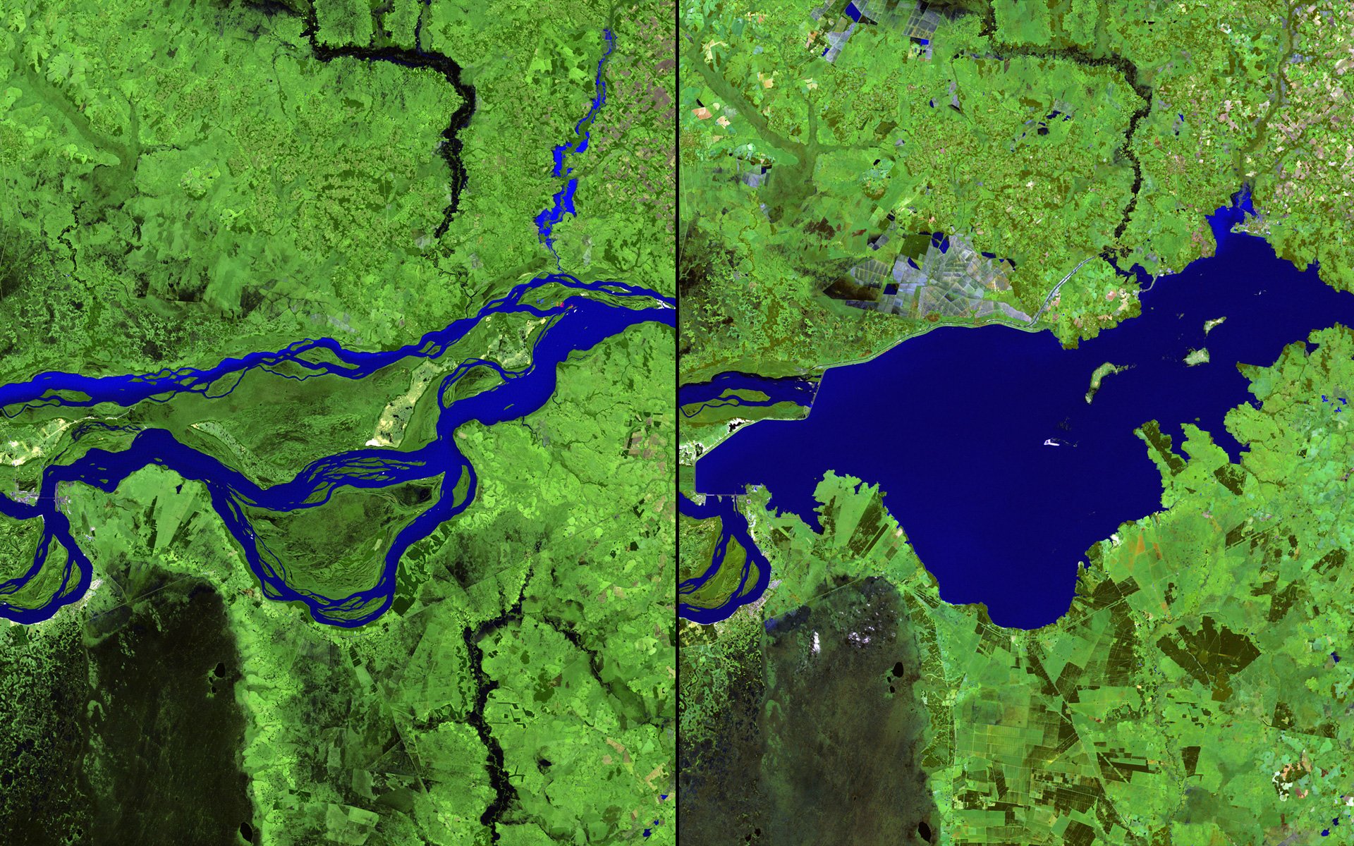 15 before-and-after images that show how we're transforming the planet