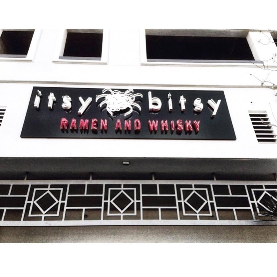 Itsy Bitsy: Ramen & Whisky