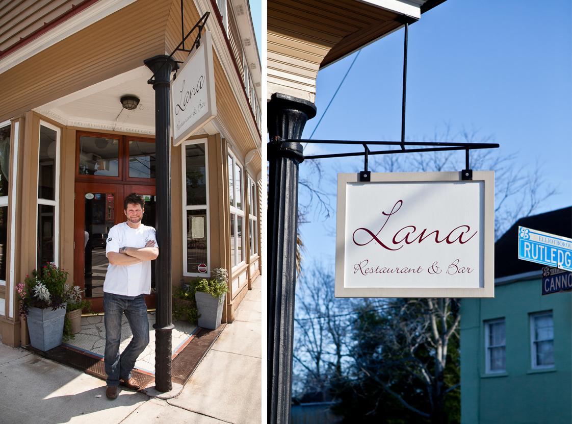 Chef John Ondo at Lana