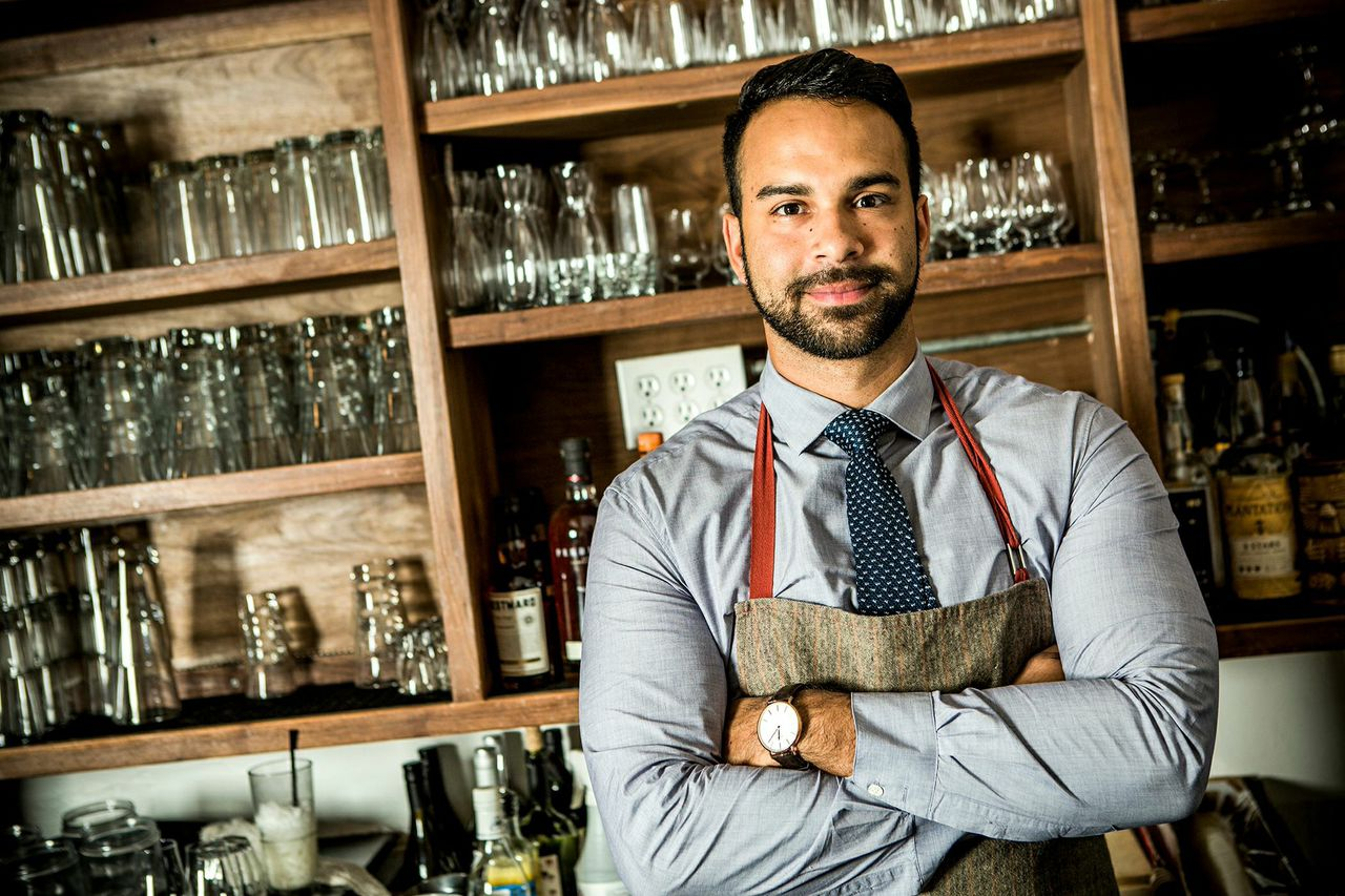 Chefs Inspire LA Bartender Julian Cox's Ultra-Smart Cocktail Menus