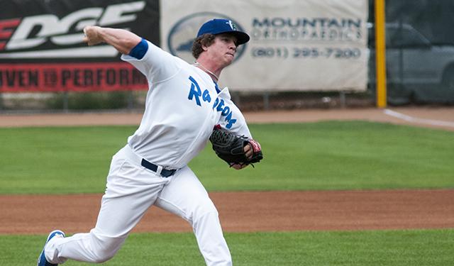 Grant Holmes, 19, will start his first full professional season in Midland, Michigan.