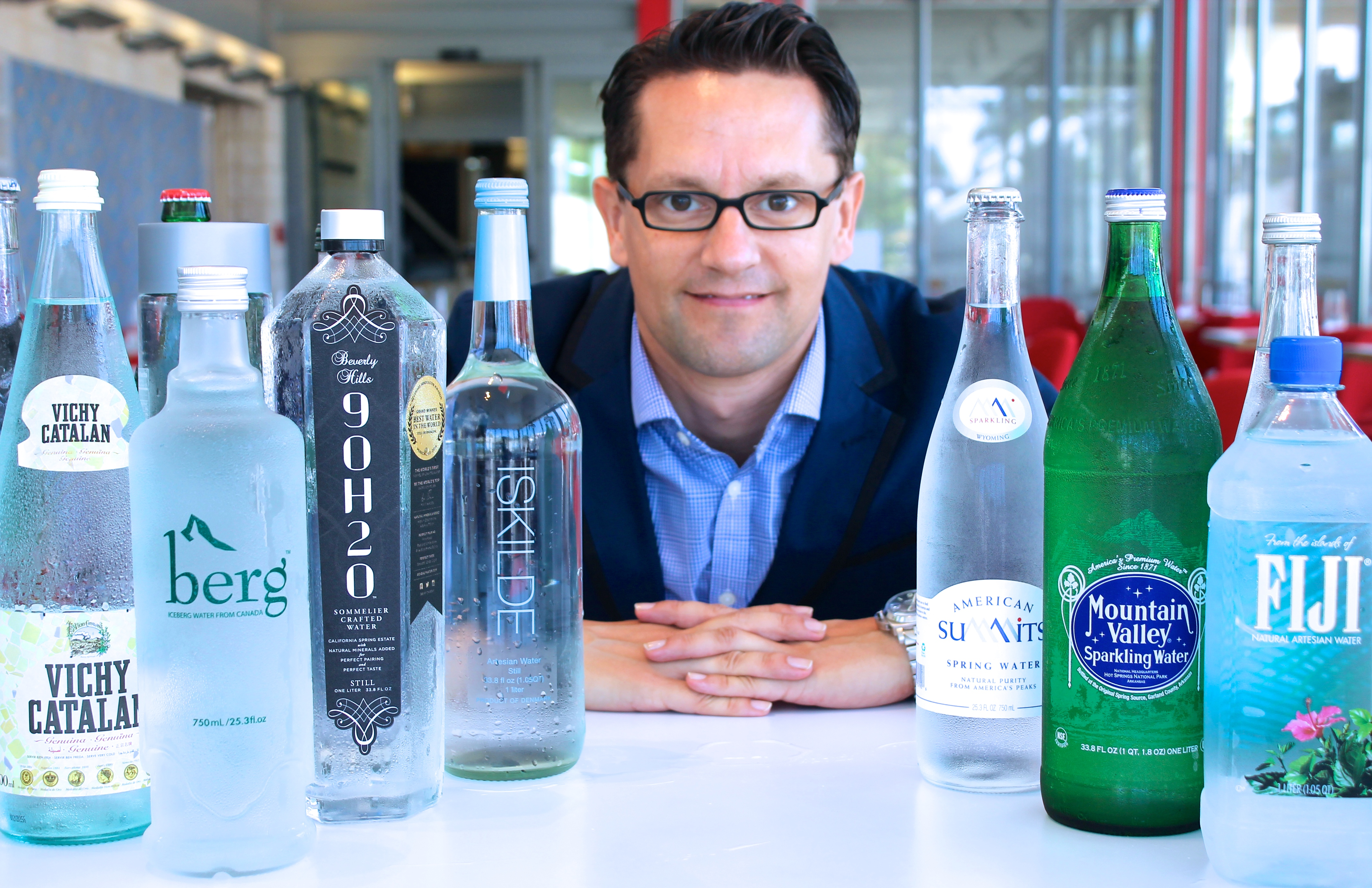 How America's Only Water Sommelier Is Changing the Way People Taste H20