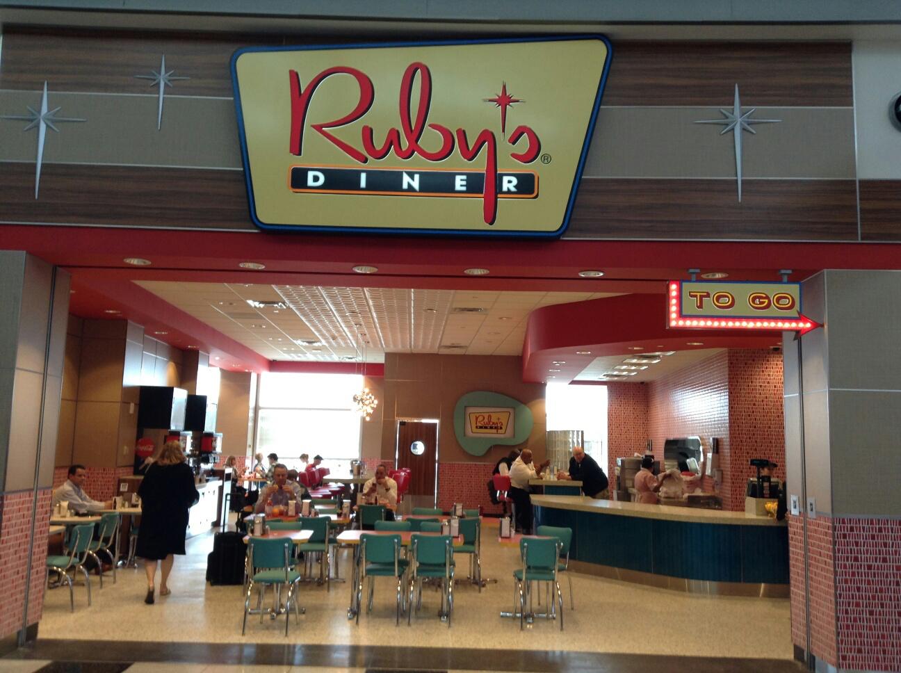 Ruby's Diner at McCarran International Airport