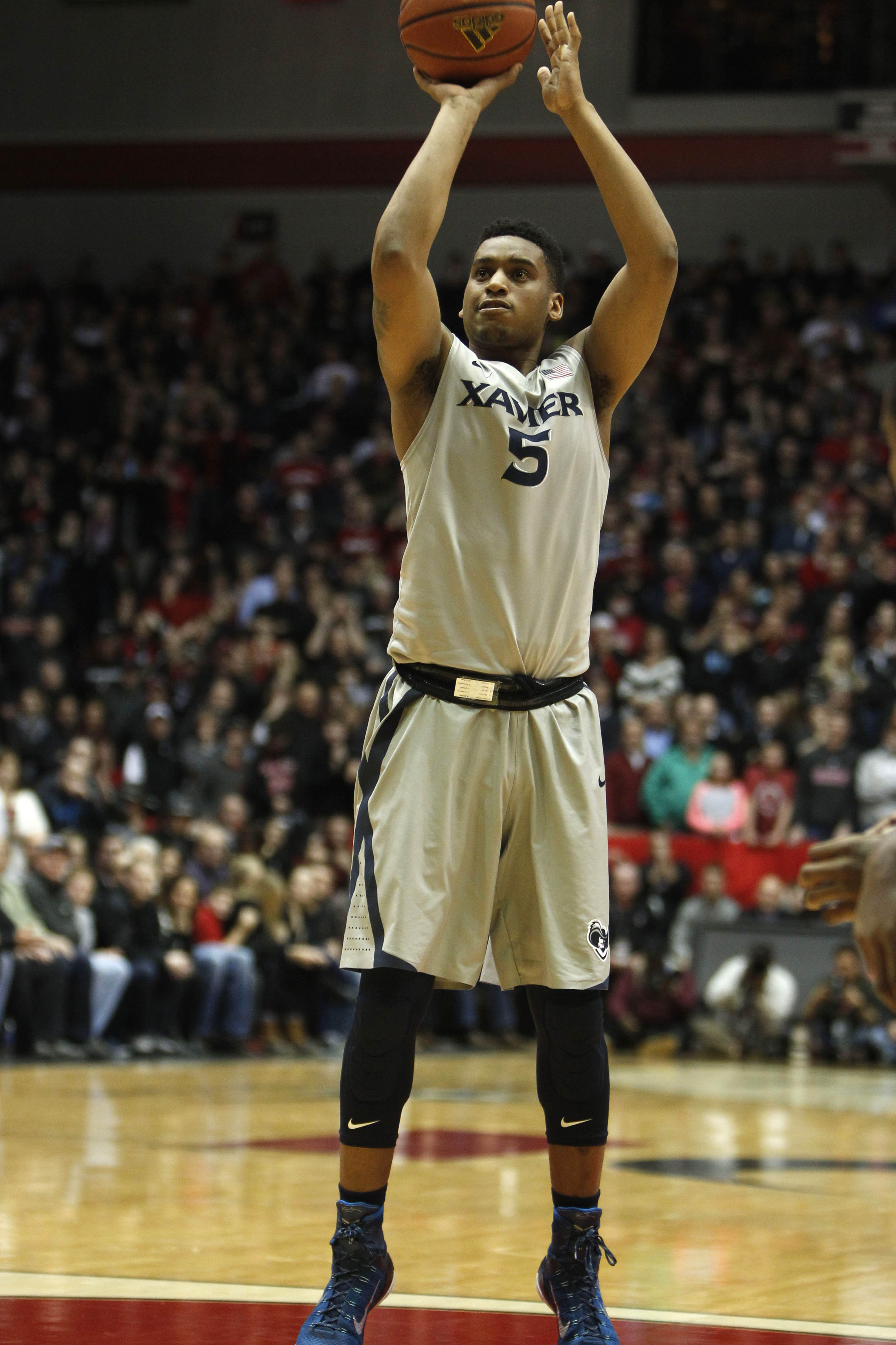 Trevon sunk the game winning free throws against UC. That alone merits a high grade.