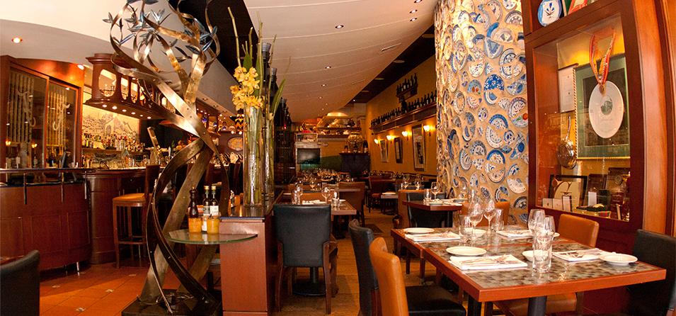 Inside Café Ferreira
