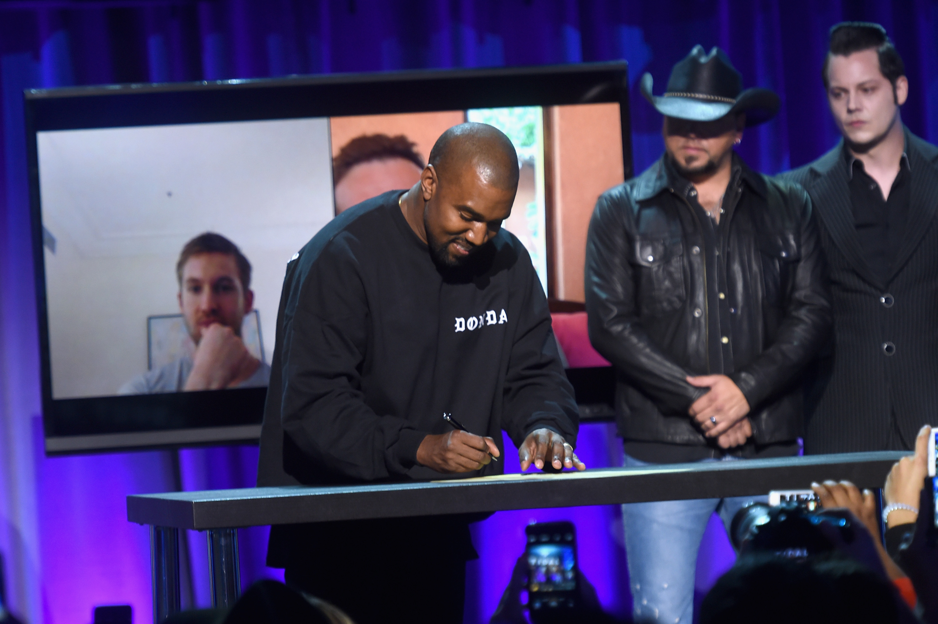 Kanye West says he passed on a multimillion-dollar partnership with Apple