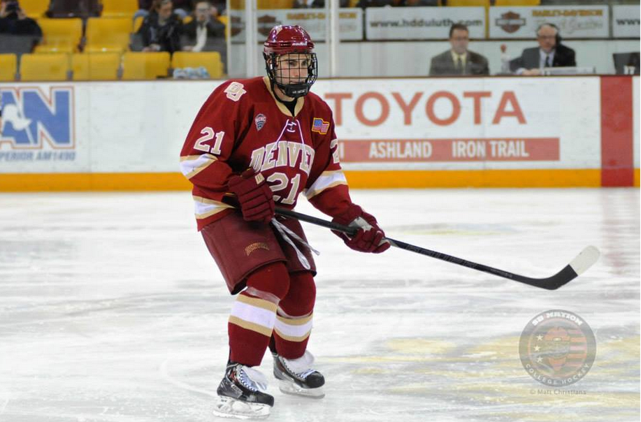 Denver senior Joey LaLeggia, a second team All-American in 2014, earned a first team All-American this season.