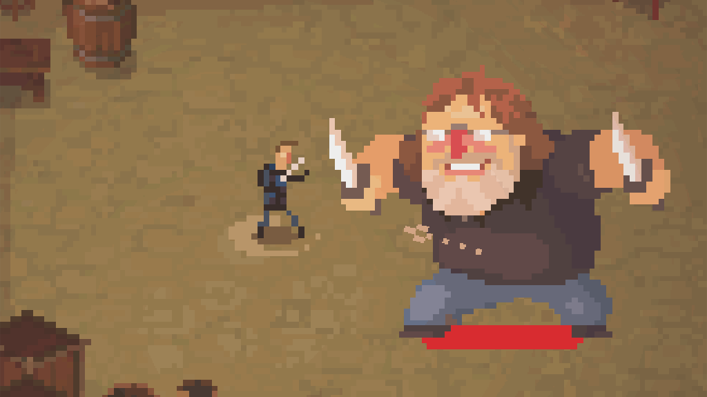 Gabe Newell will be a bad guy in this indie dungeon crawler, with Valve's blessing