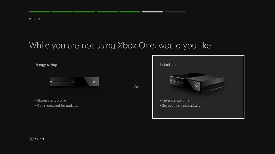 Xbox One, responding to criticism, to offer energy-saving options at initial setup