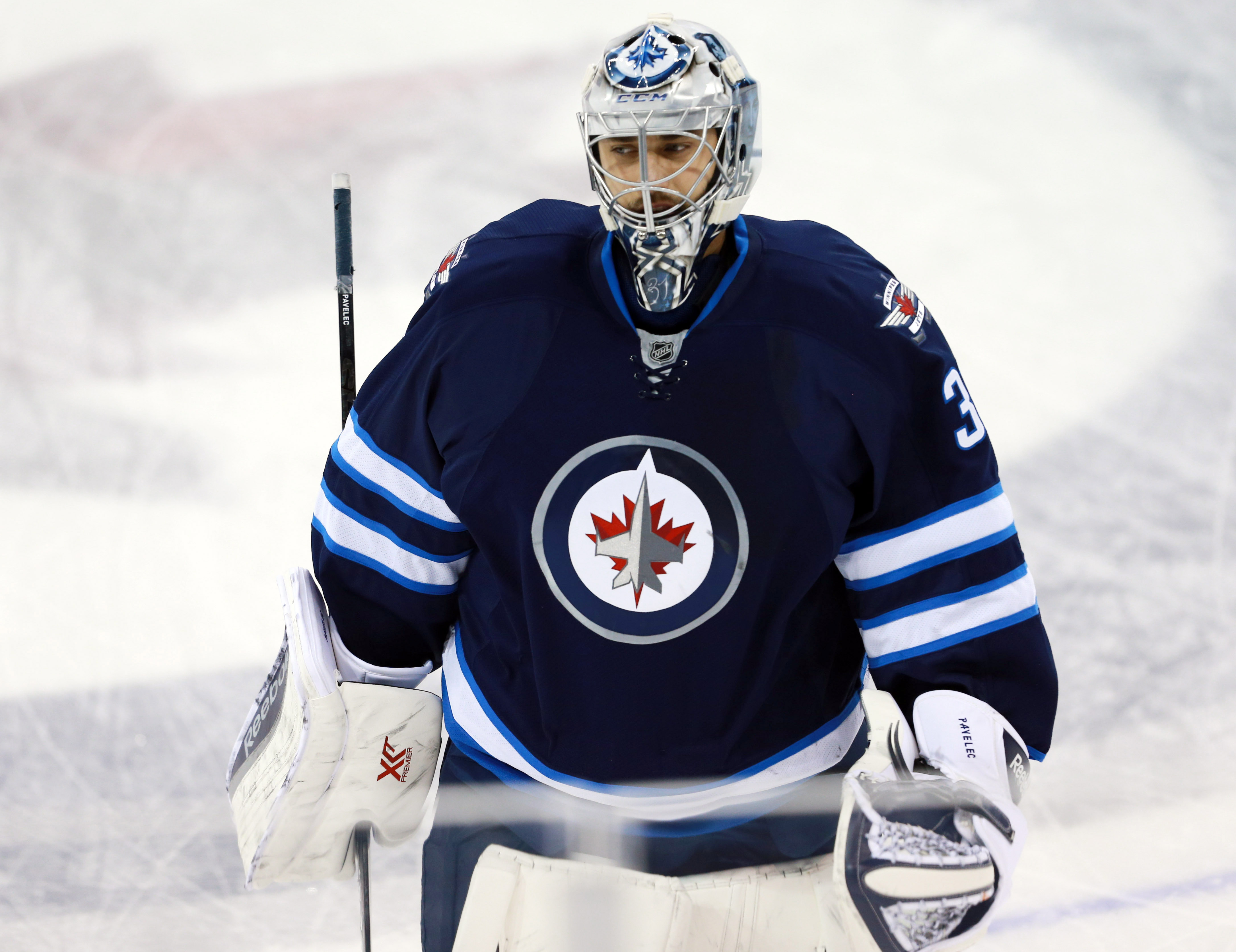 Pavelec has been side-eyed by many over his career, but had been very good this season.