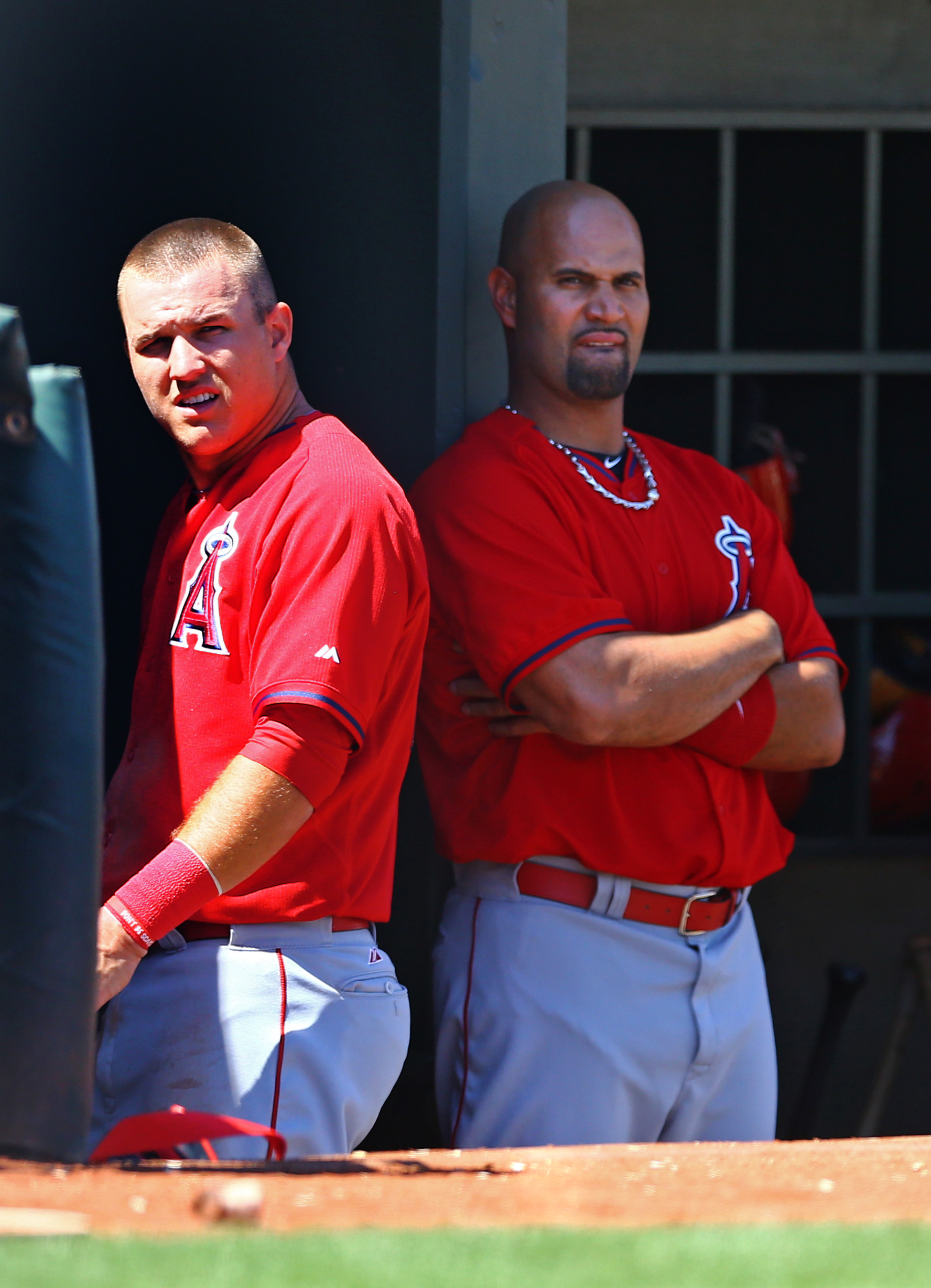 Trout and Pujols contemplate when their org will turn on them