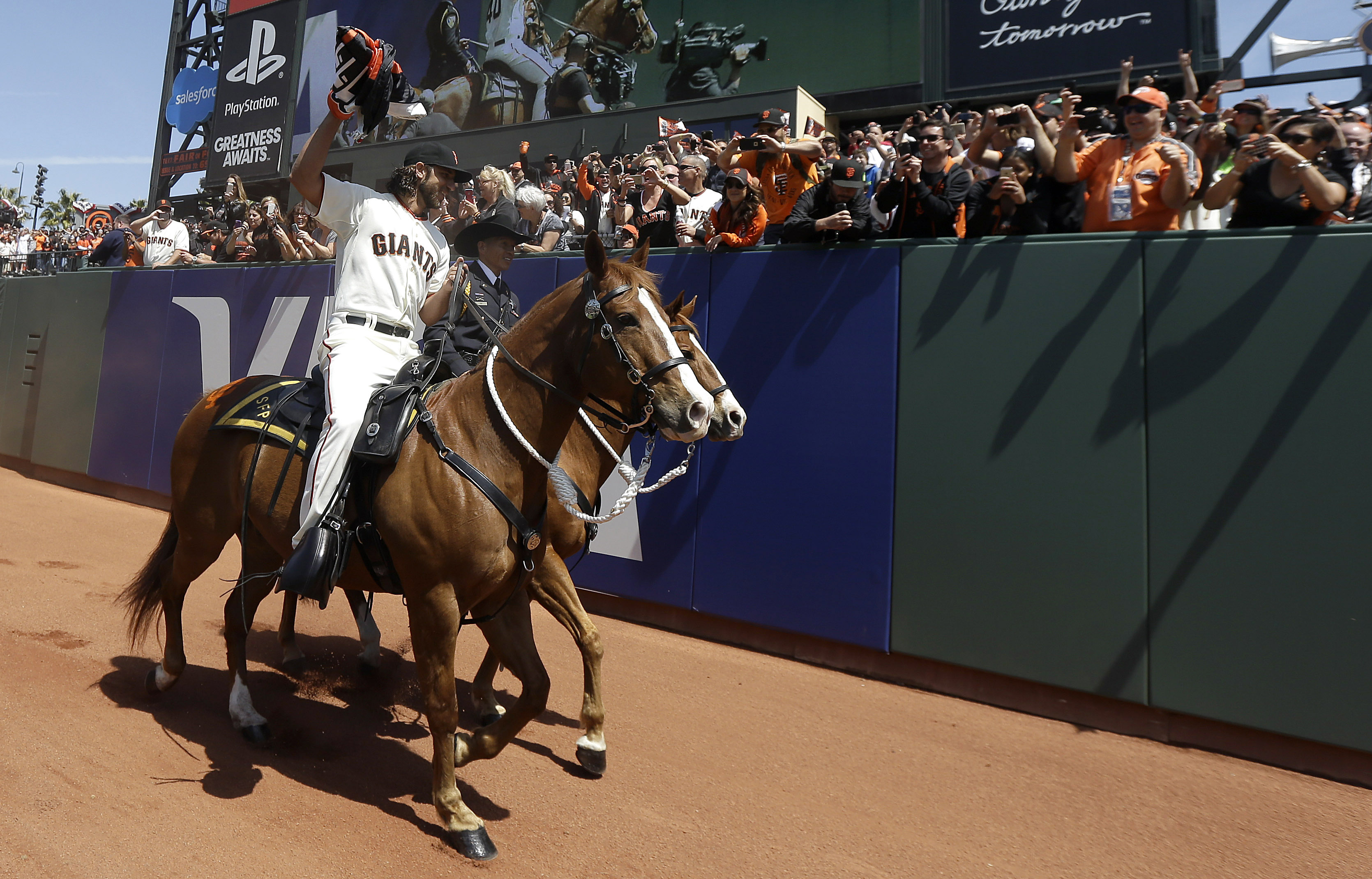 The front page did not have a single picture of Madison Bumgarner on a horse. This was a wrong that had to be righted.
