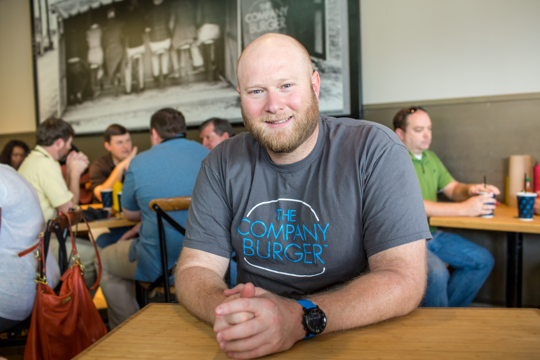 Adam Biderman, owner and founder of Company Burger