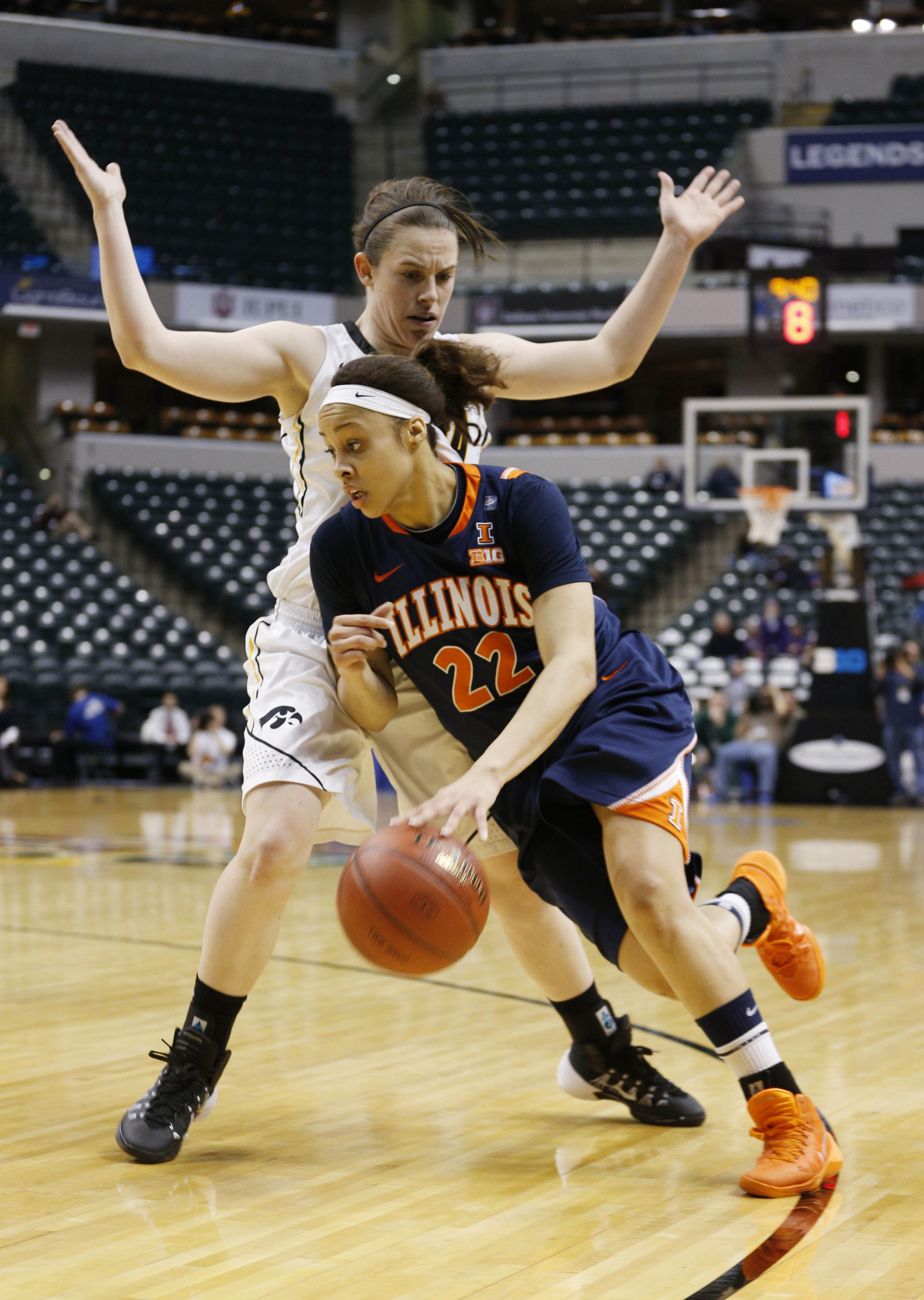 Illinois' Ivory Crawford hasn't gotten much attention this season, but she probably deserves more.